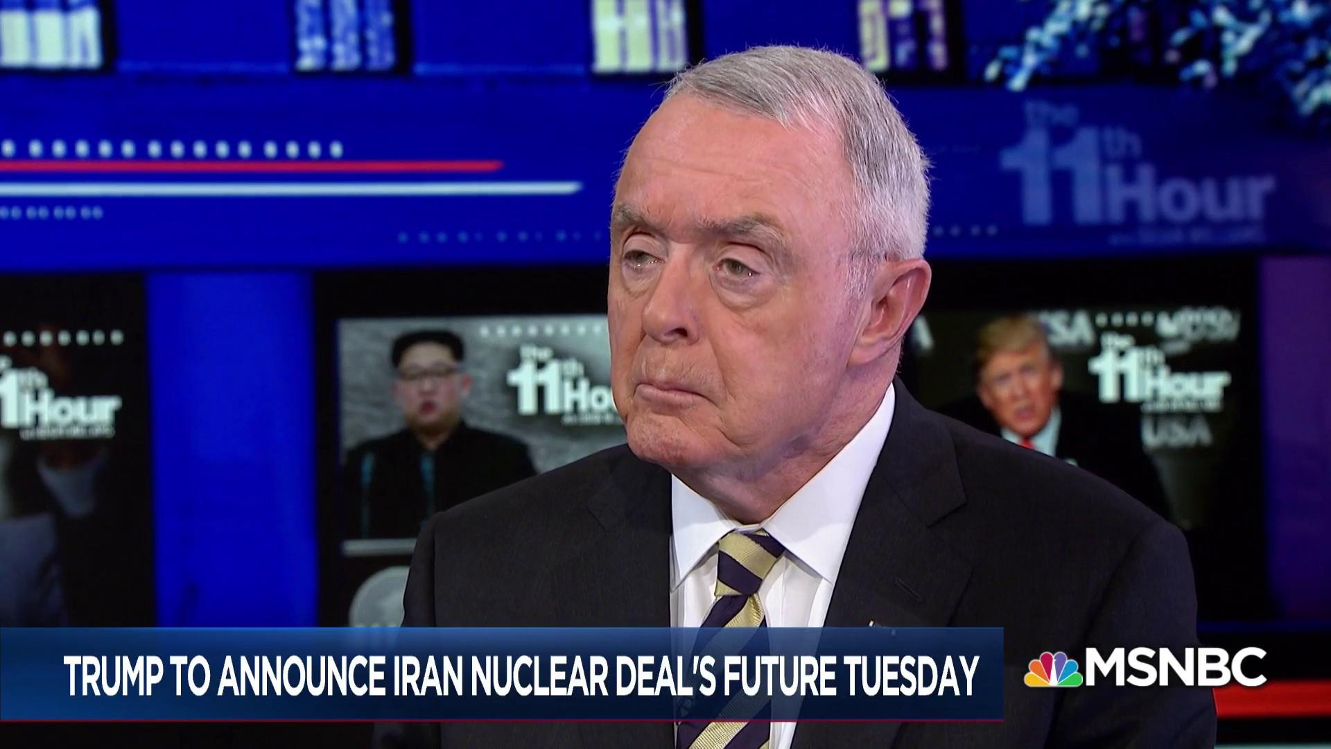 McCaffrey: We'll be in 'real trouble' if Trump ditches Iran deal