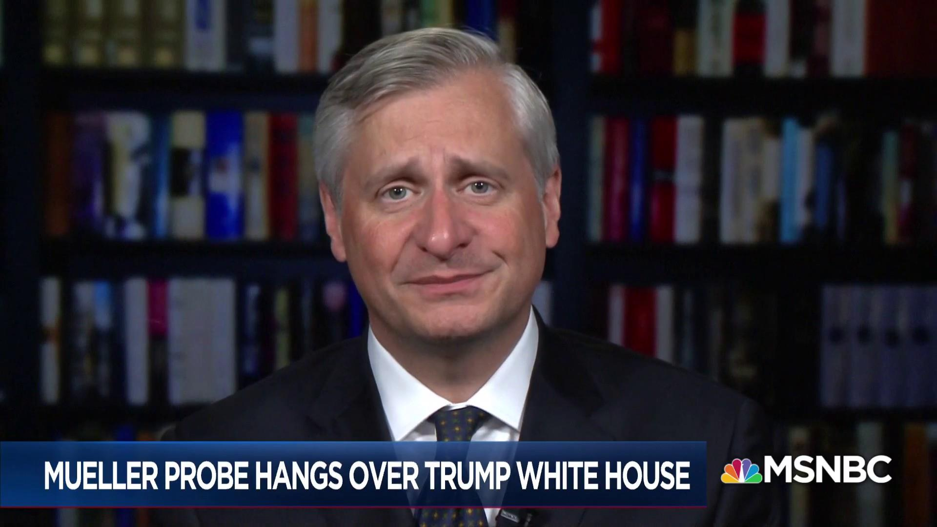 Meacham: Mueller is moving on legal time, not political time