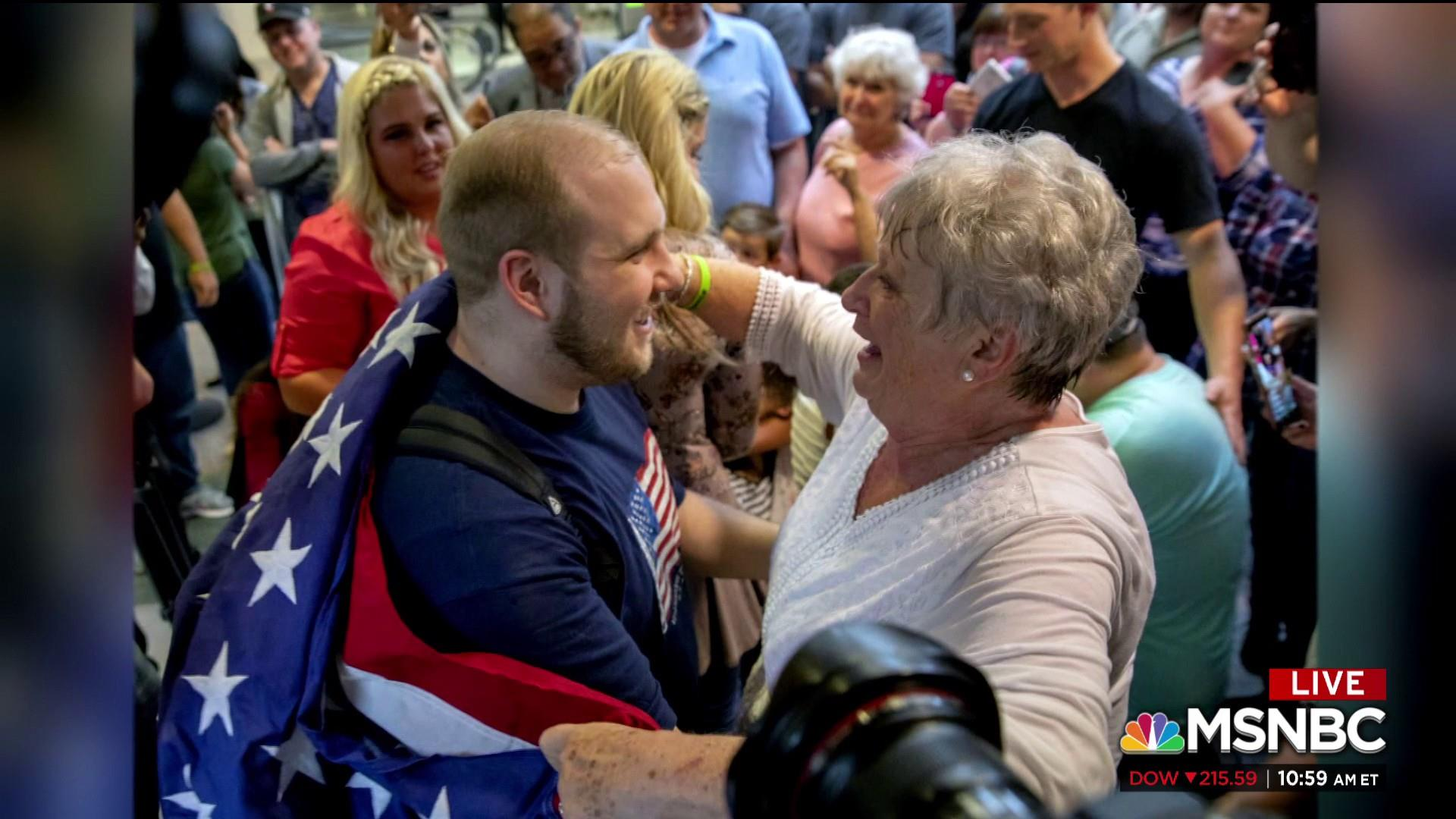 #BIGPICTURE: Josh Holt, American held in Venezuela, returns home