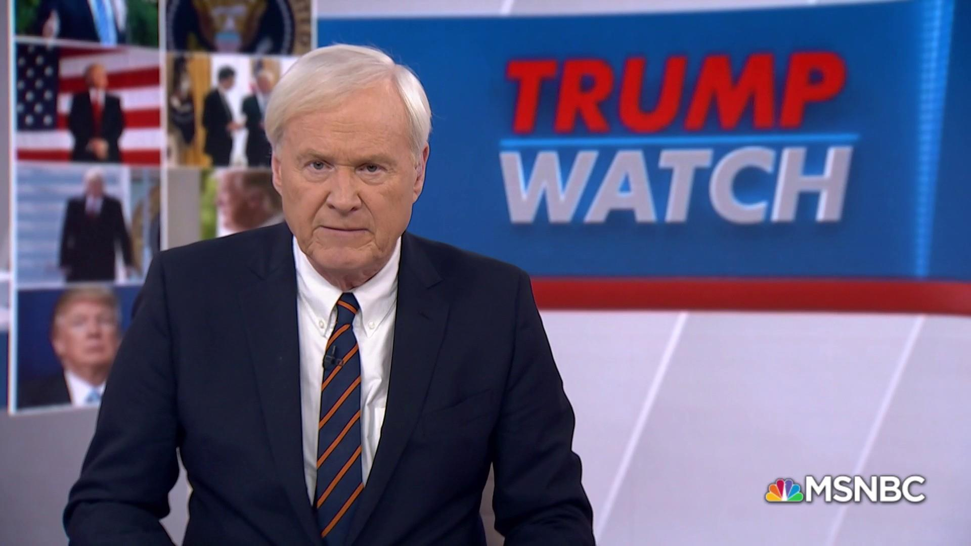 Matthews: Trump moving us closer to war by withdrawing from Iran Deal