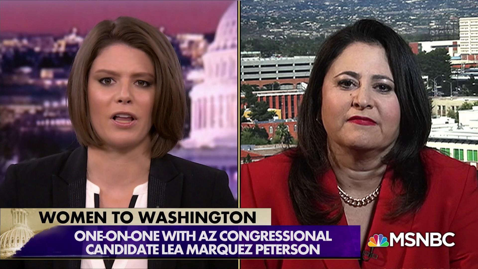 Marquez Peterson: Trump's 'animals' comment not racist