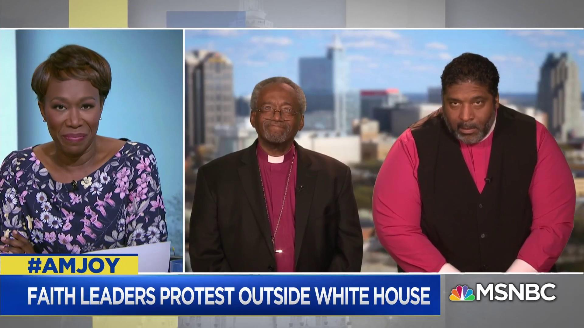 Bishop Curry: 'IIf we love our country we will follow the teaching of God, the ways of love'