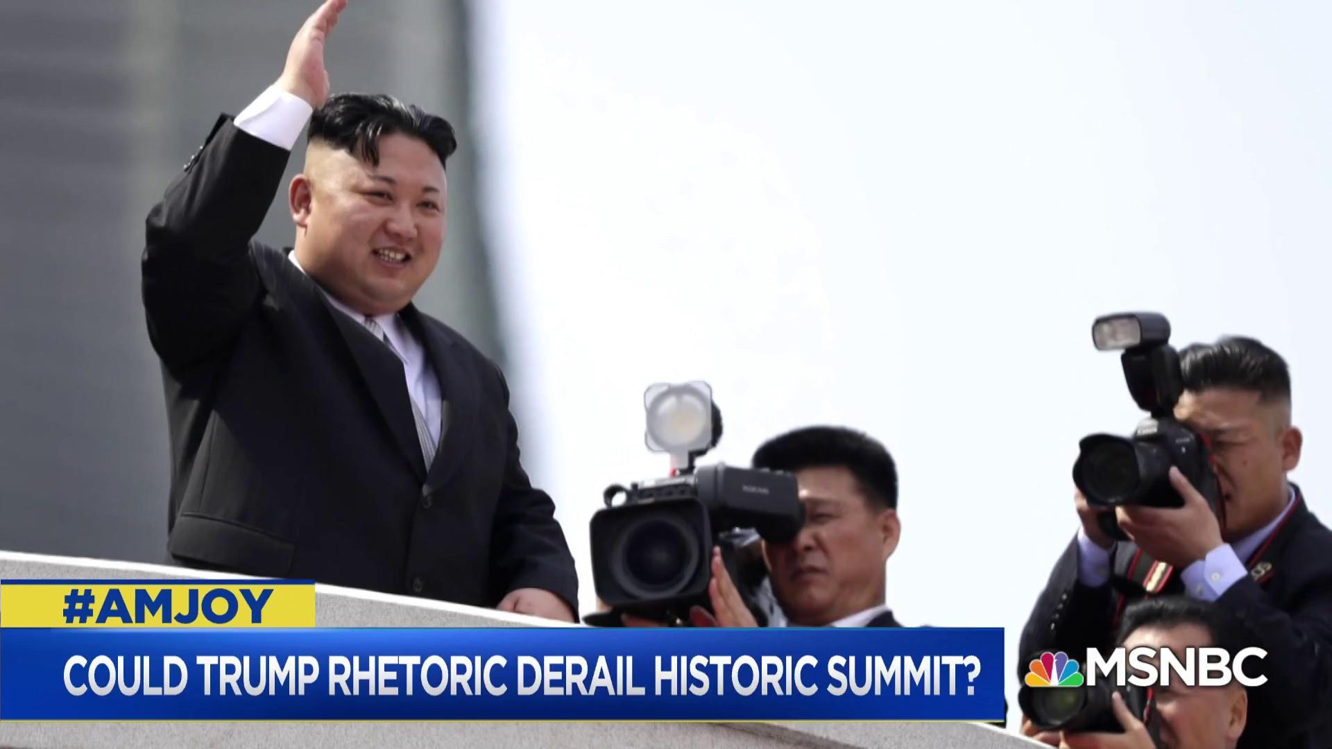 '100% of North Korea's energy is focused on us'