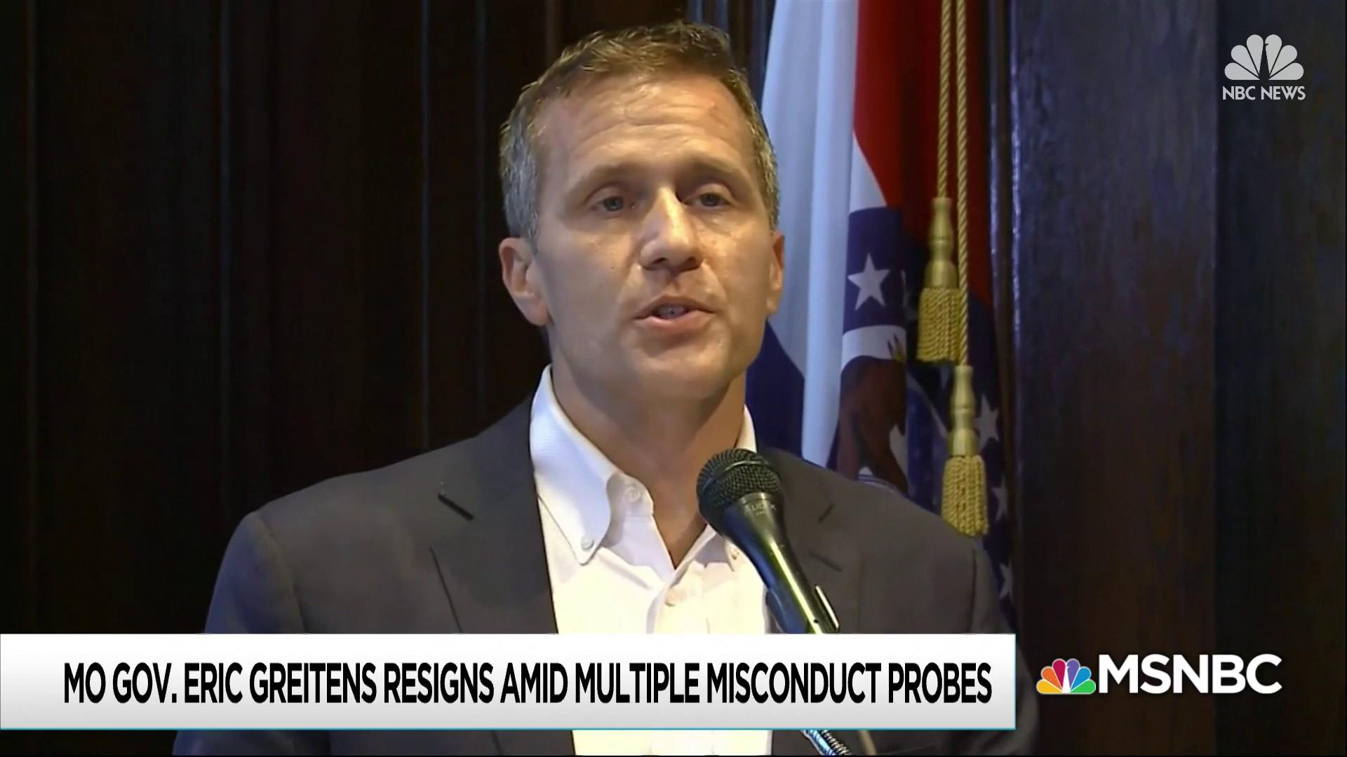 Greitens plays a politician's best card to make charges go away