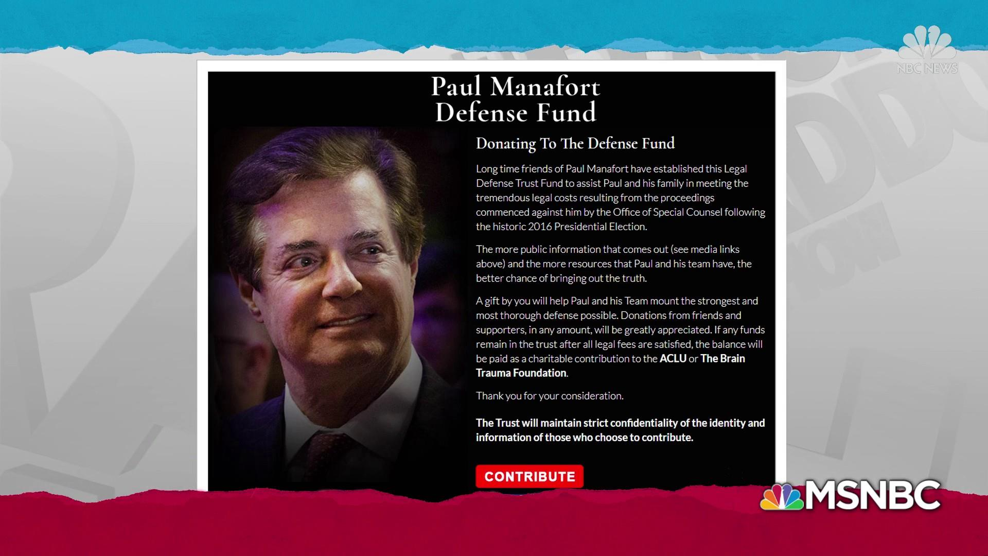 Manafort gets contender for world's sketchiest legal defense fund