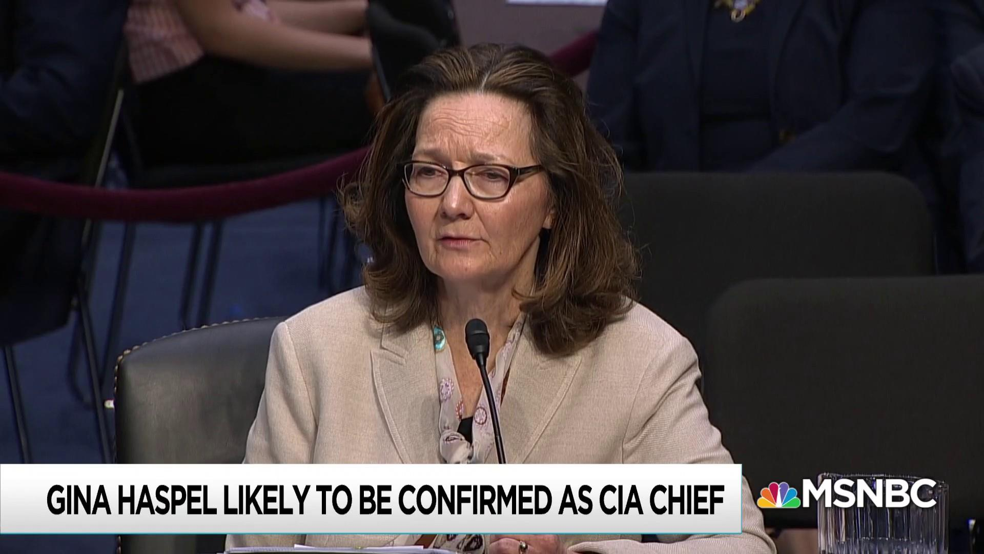 Secret CIA torture report kept from senators ahead of Haspel vote