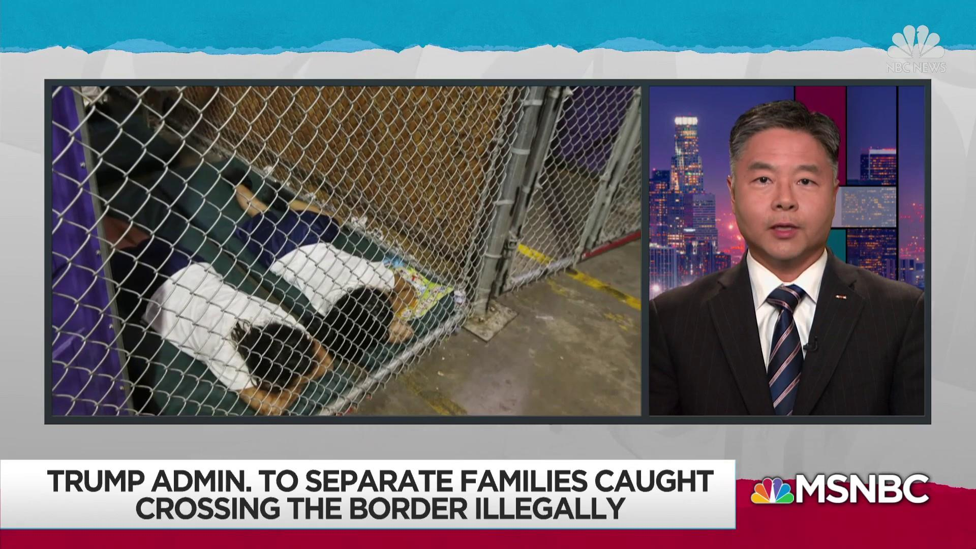Trump admin facing tough questions on child separation policy