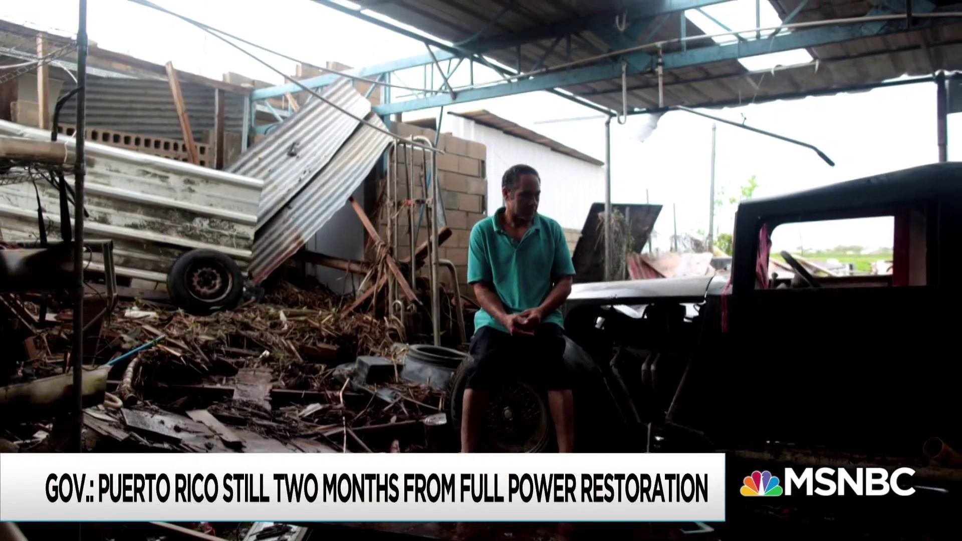 Weak Trump effort leaves Puerto Rico exposed for new storm season