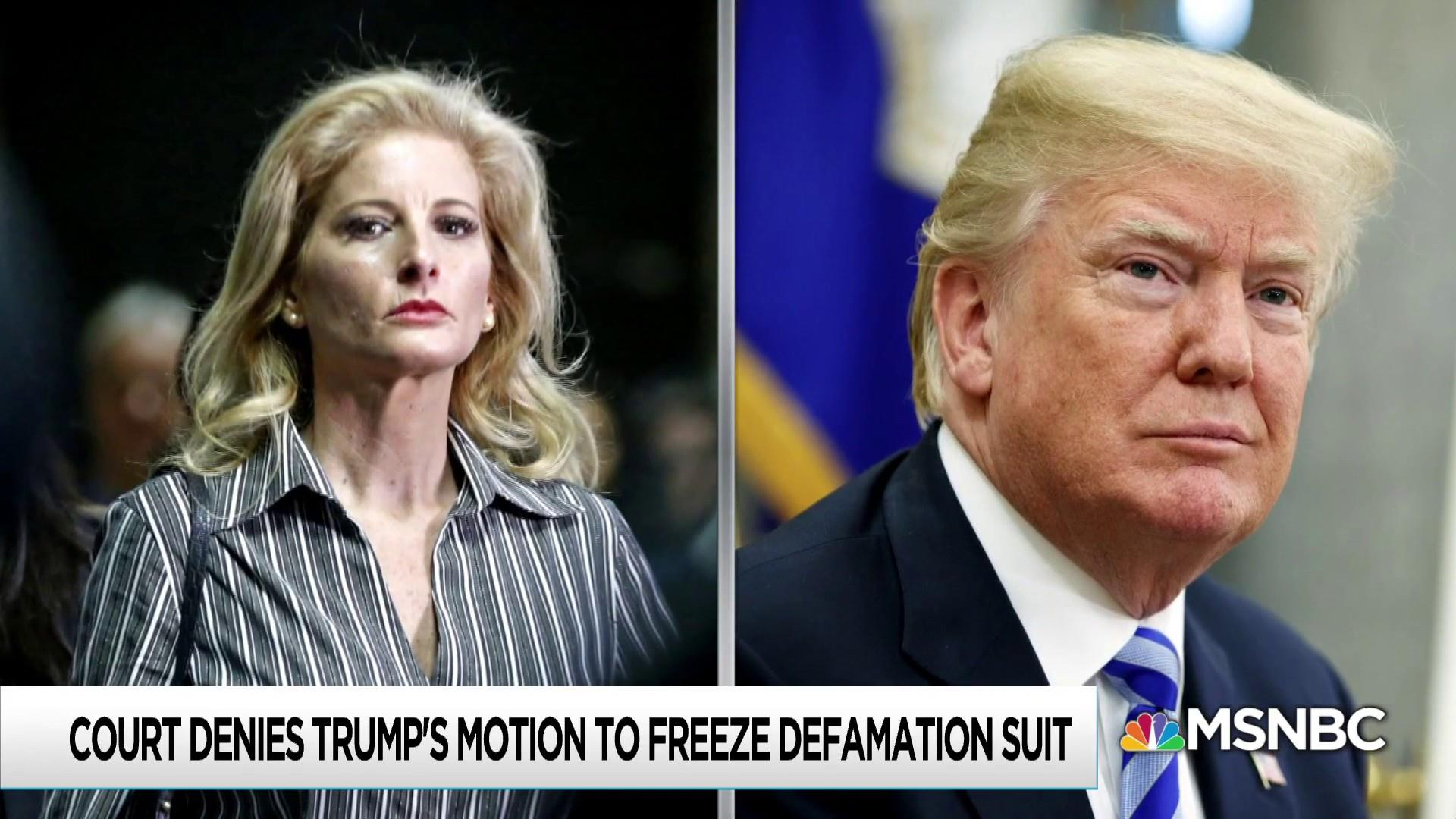Court to Summer Zervos on discovery in Trump lawsuit: Go for it