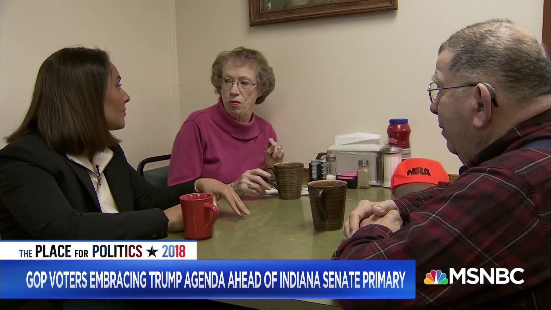 GOP candidates embrace Trump's agenda ahead of Indiana Senate primary