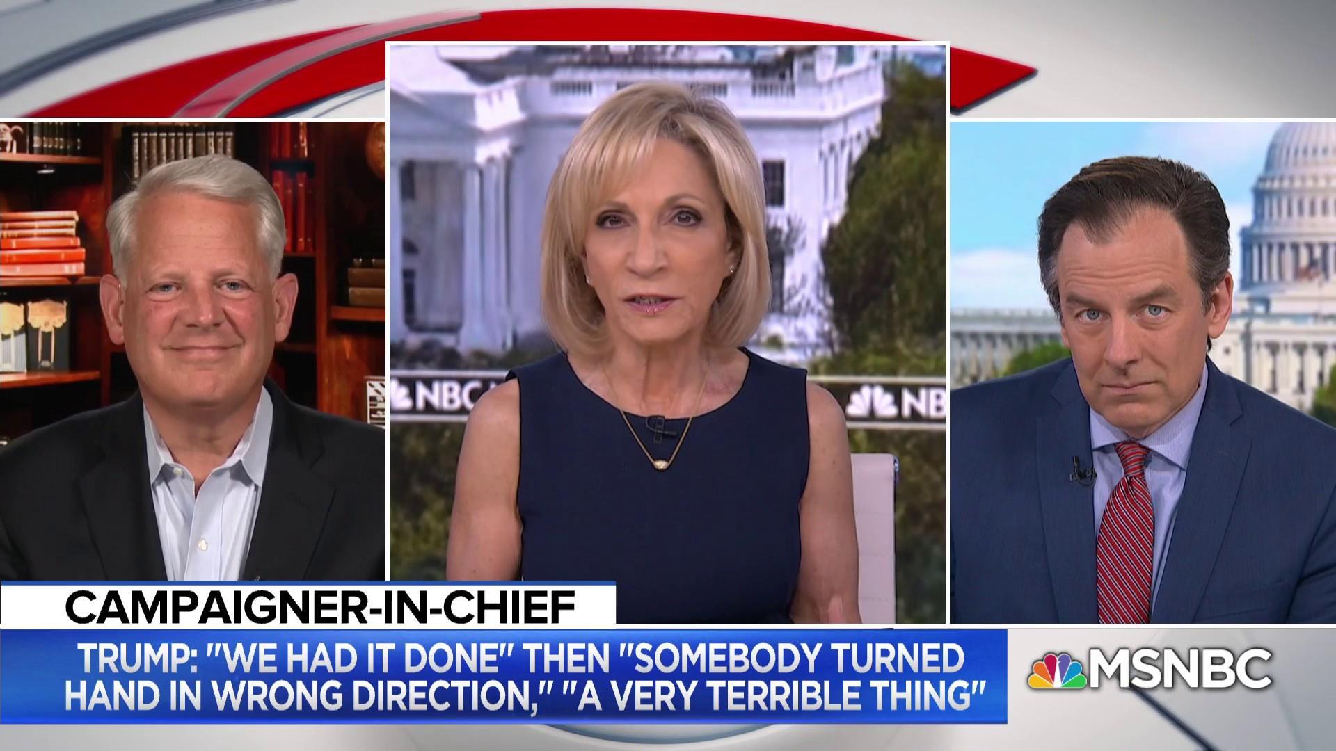 Fmr. Congressman Steve Israel talks Trump's midterm strategy