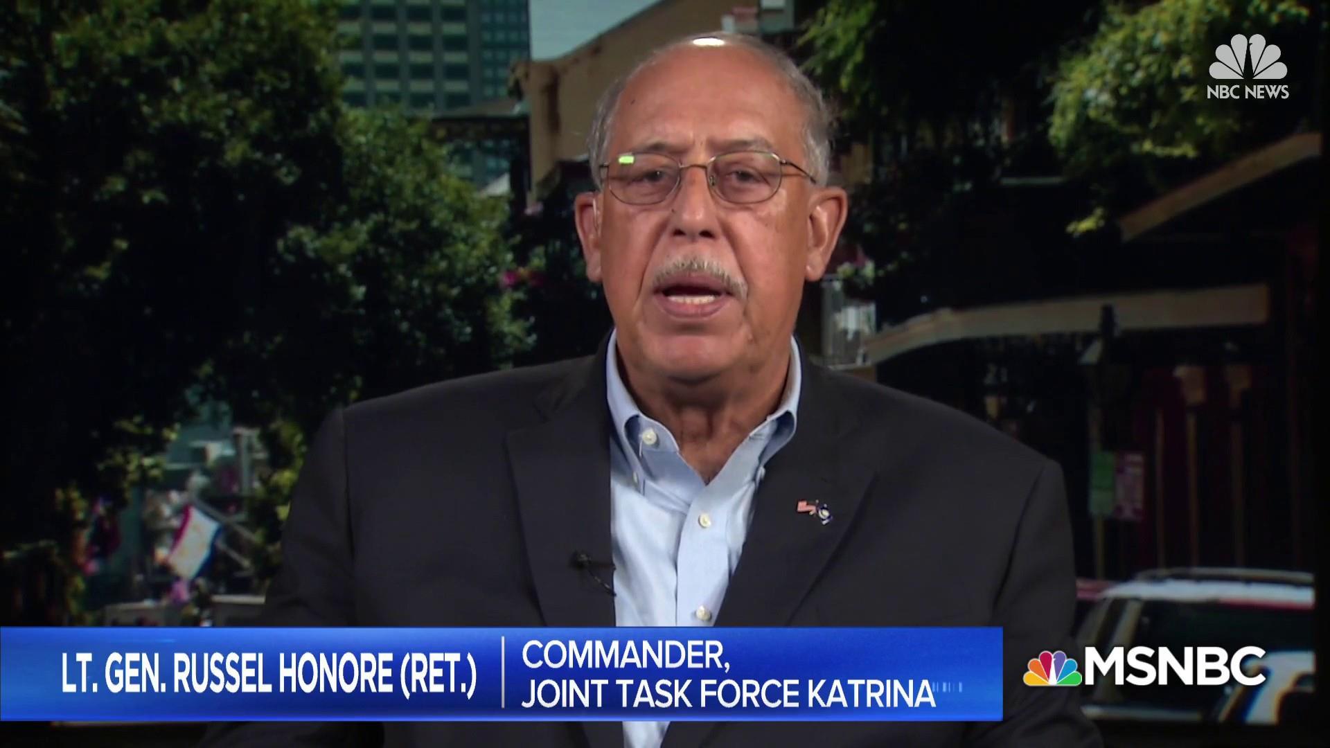 Lt. Gen. Russel Honore talks Hurricane Maria relief