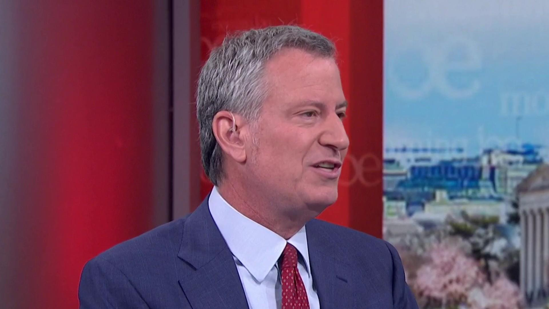 De Blasio: Trump has said to my face NYC is a safe city