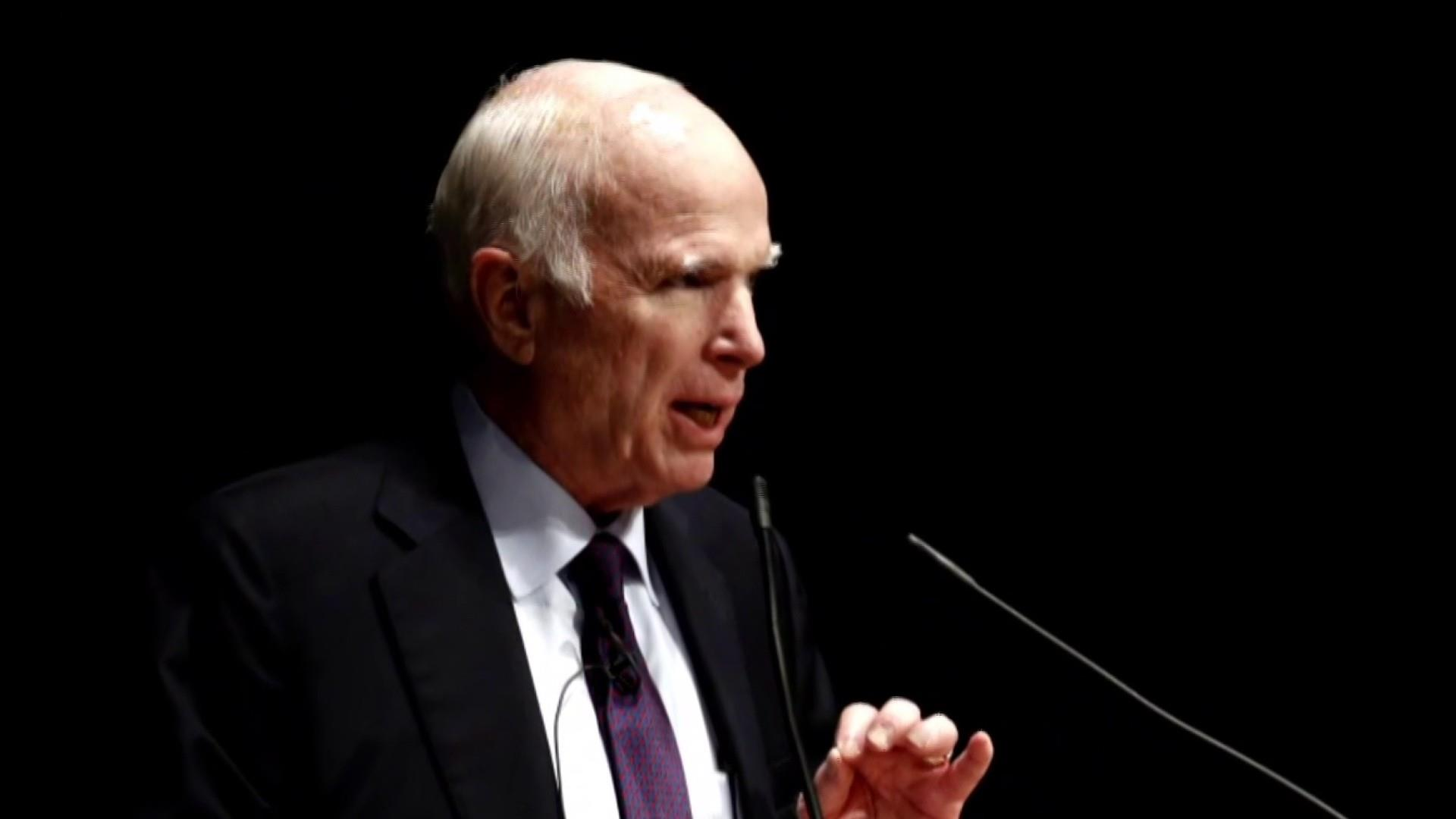 McCain discusses his last term in office in memoir
