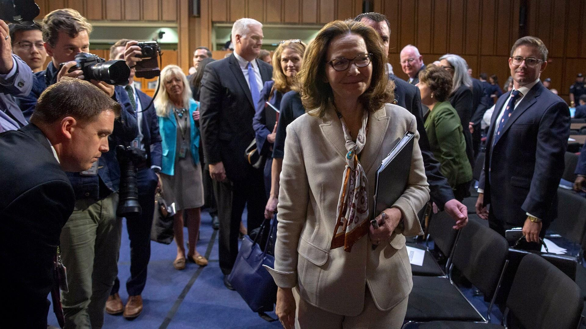 Haspel faces likely confirmation as four Democrats issue support