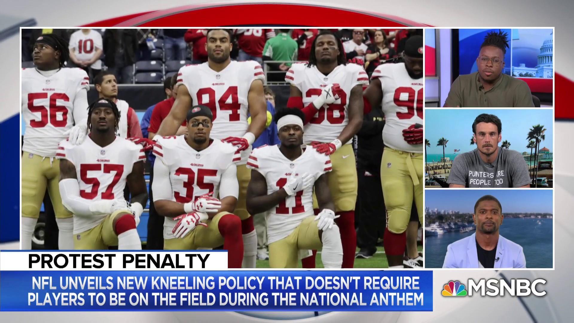 Tynes: NFL kneeling rule submits to Trump's 'fear-mongering'