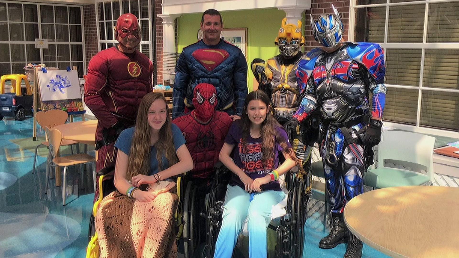 #GoodNewsRuhles: SWAT team visits hospital dressed as superheroes