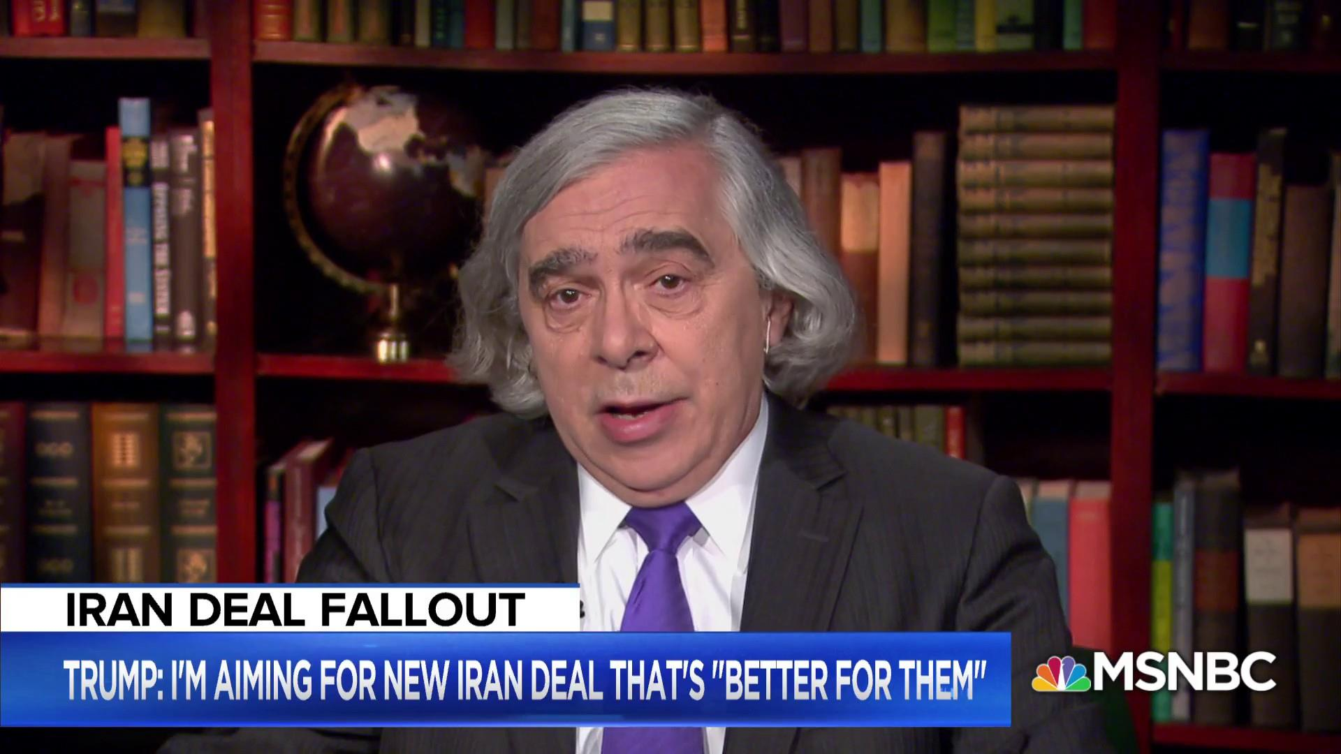 Fmr. Energy Secretary:  Iran nuclear deal verifiably made sure Iran had no nuclear weapon
