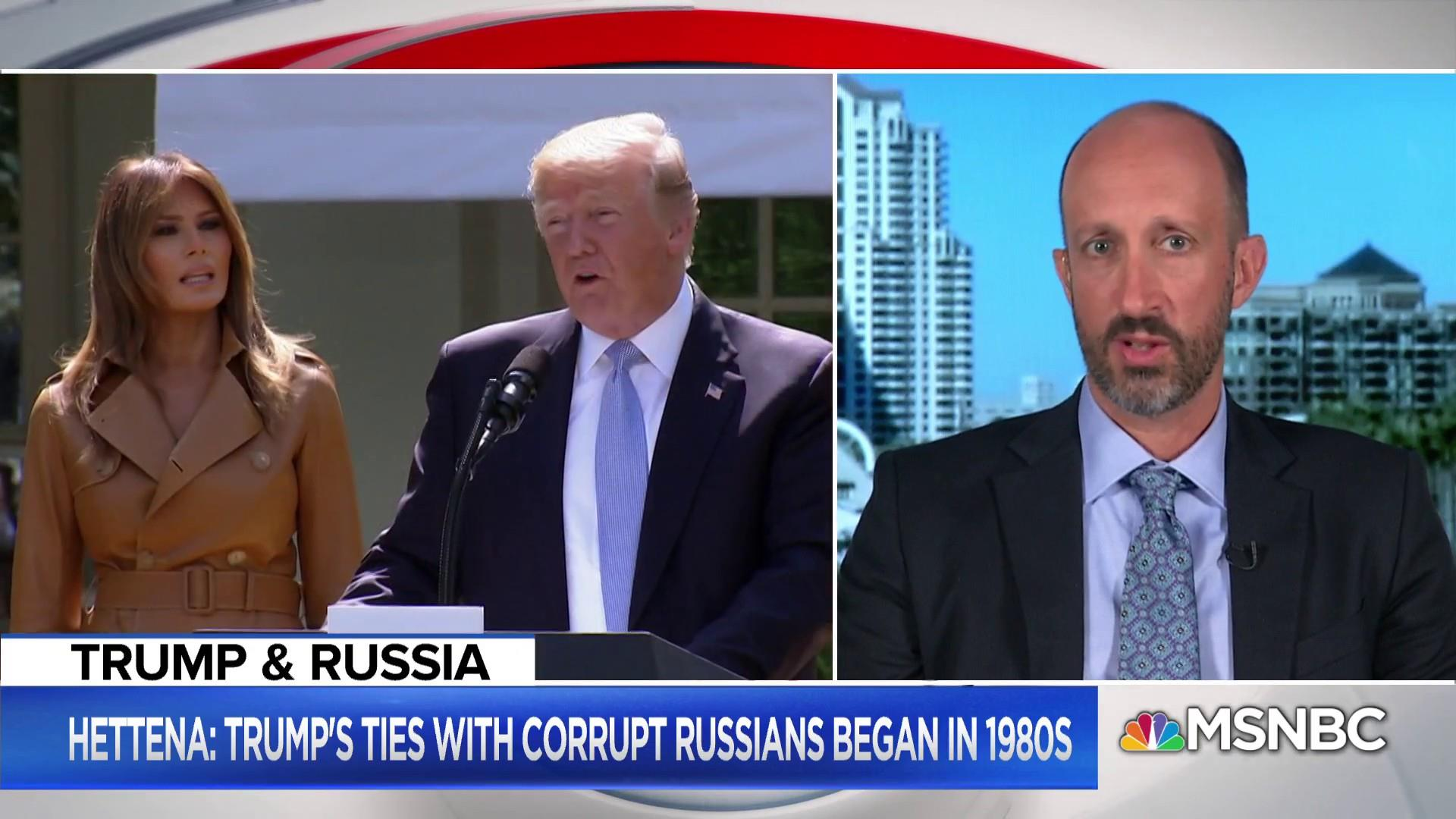 President Donald Trump has a history of Russian mob ties