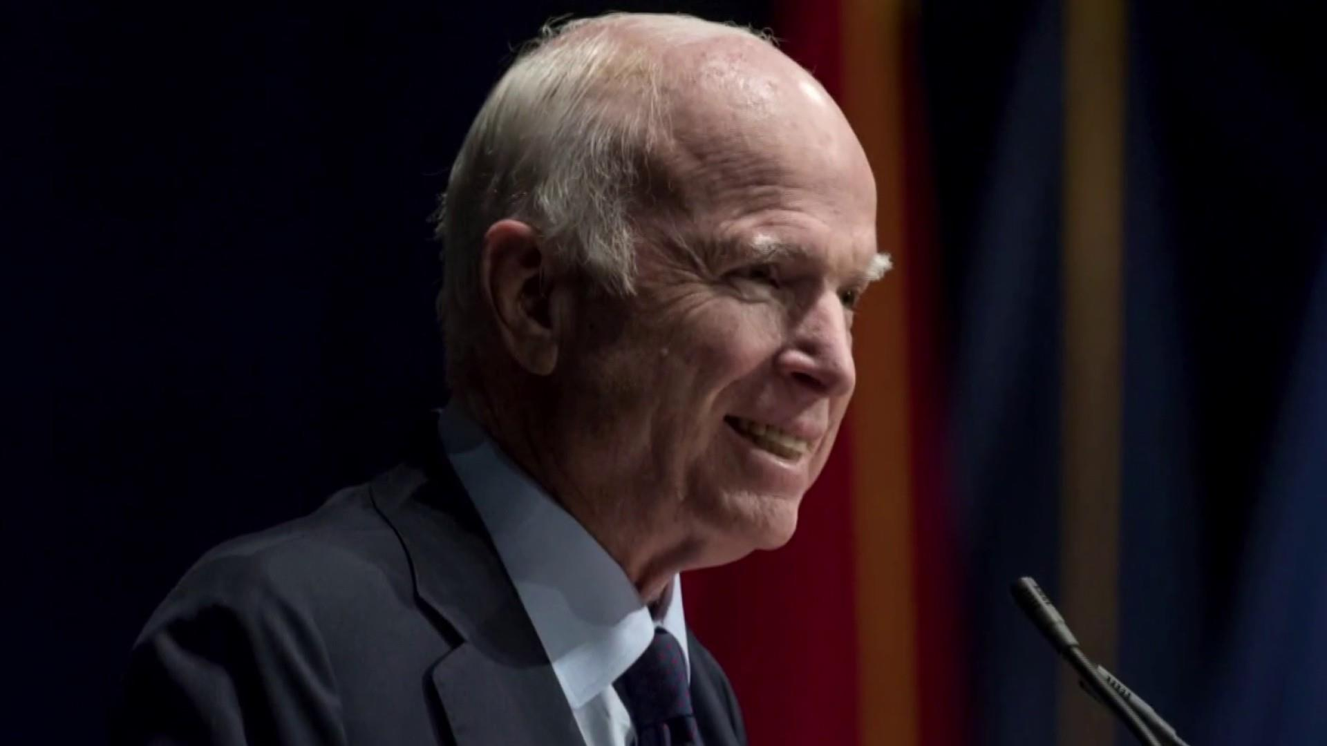 War Hero John McCain's great deeds and service to this country