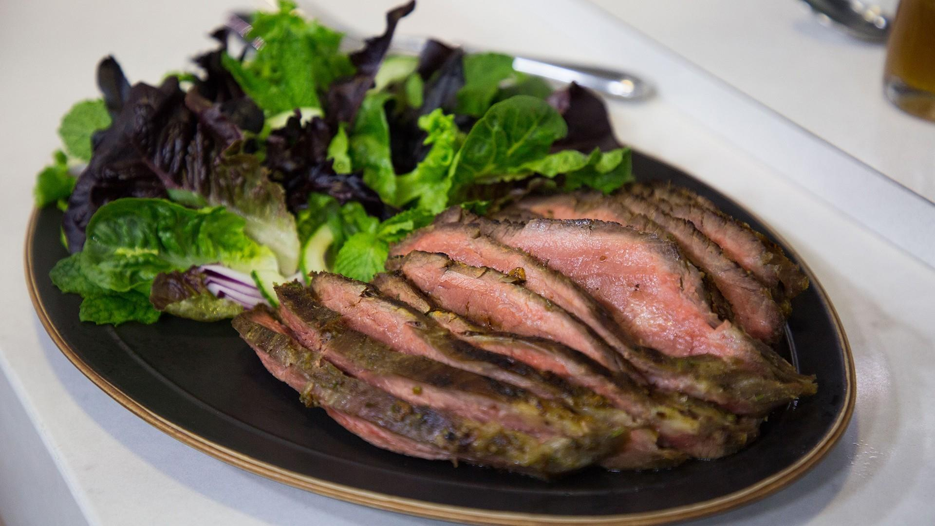Thai beef steak salad for a hearty summer meal