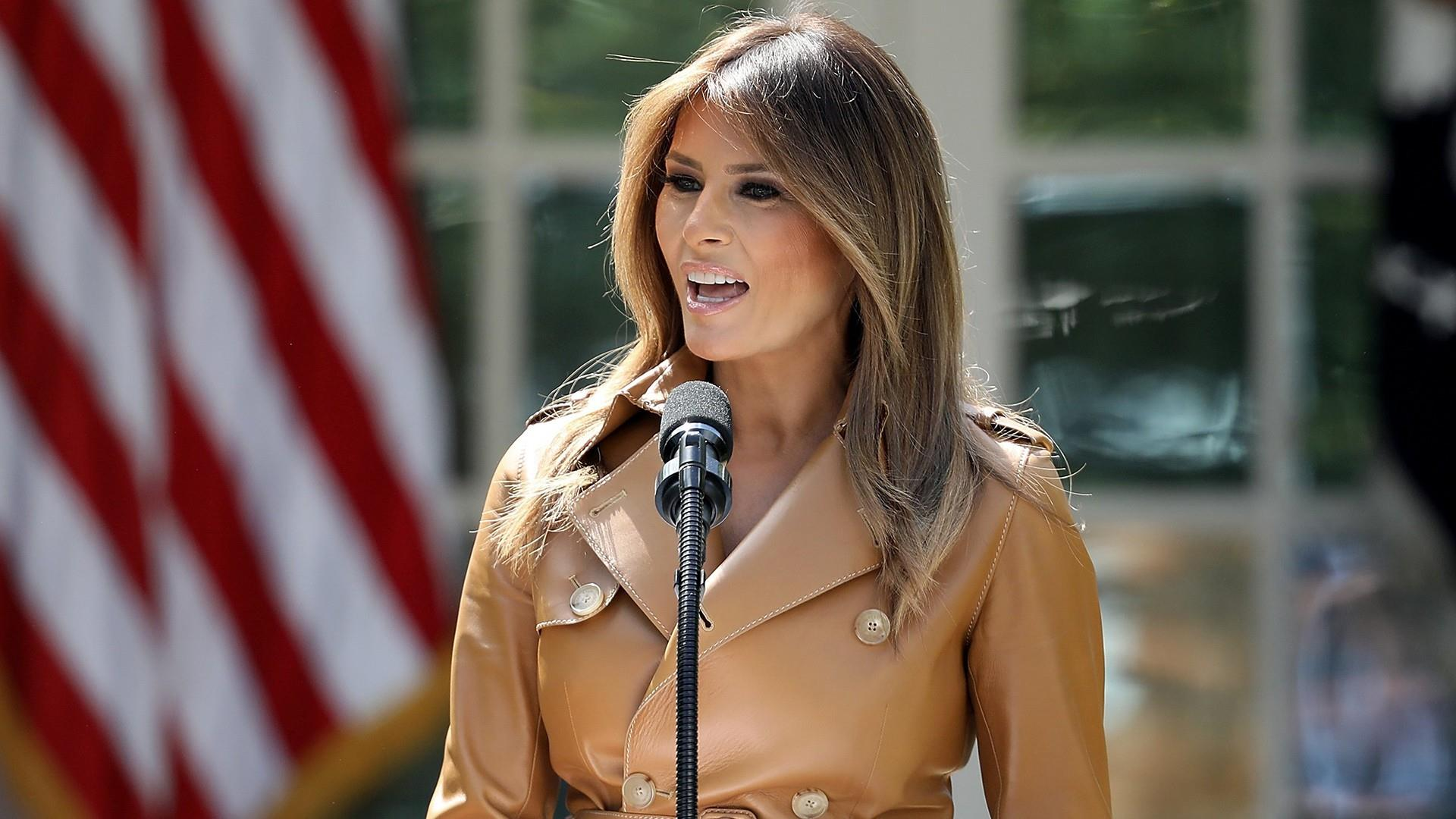 Melania Trump launches 'Be Best' awareness campaign for ...