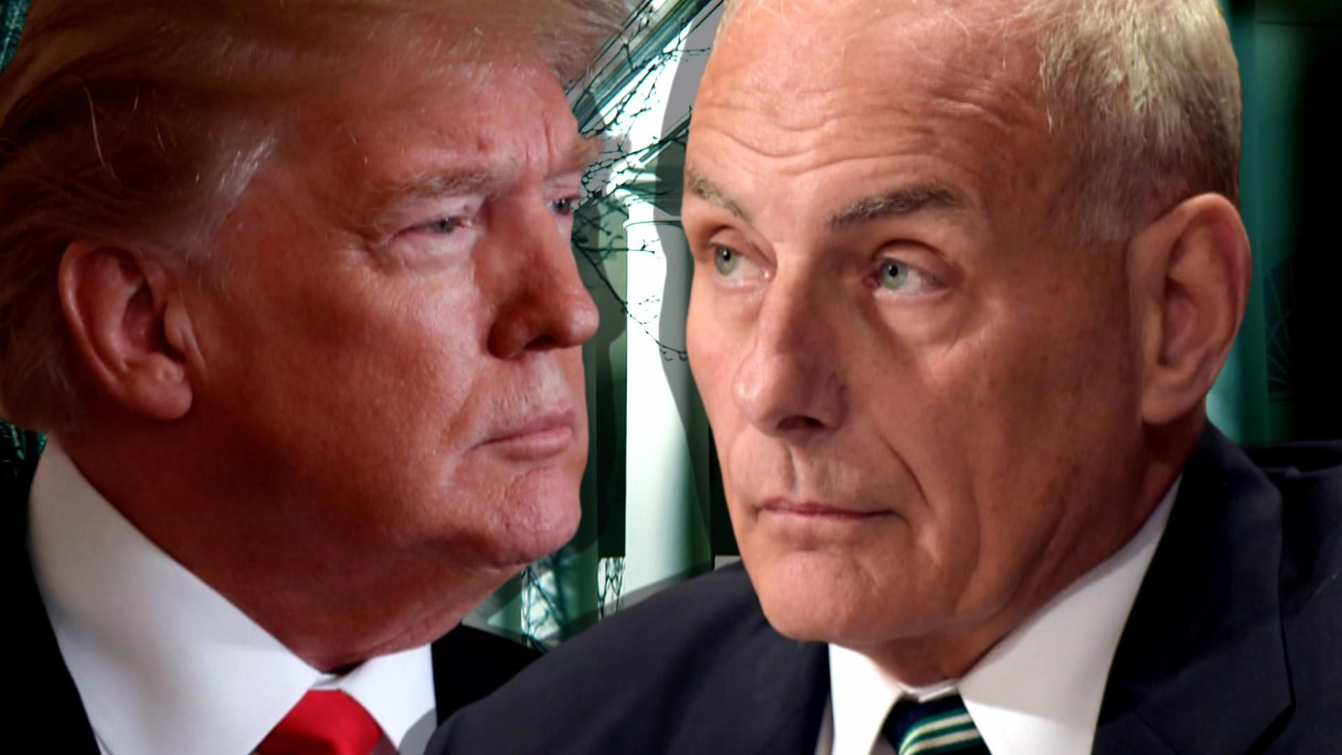 Kelly thinks he's saving U.S. from disaster, calls Trump 'idiot,' say White House staffers