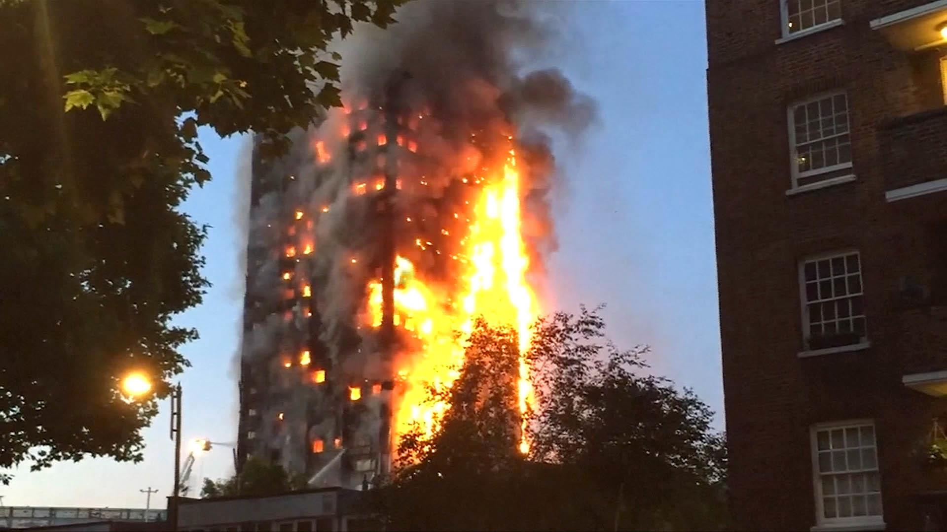 grenfell tower fire leaves  u0026 39 unhealed wound u0026 39  over london