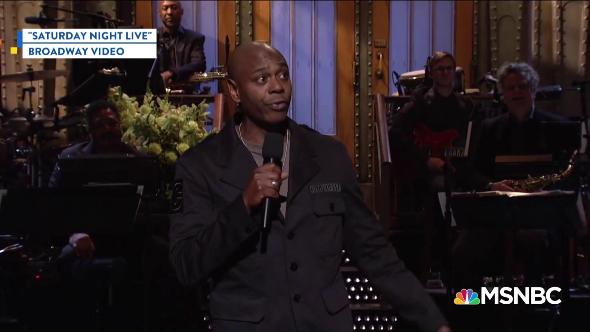 Dave Chappelle explains why he's making his 1st political endorsement
