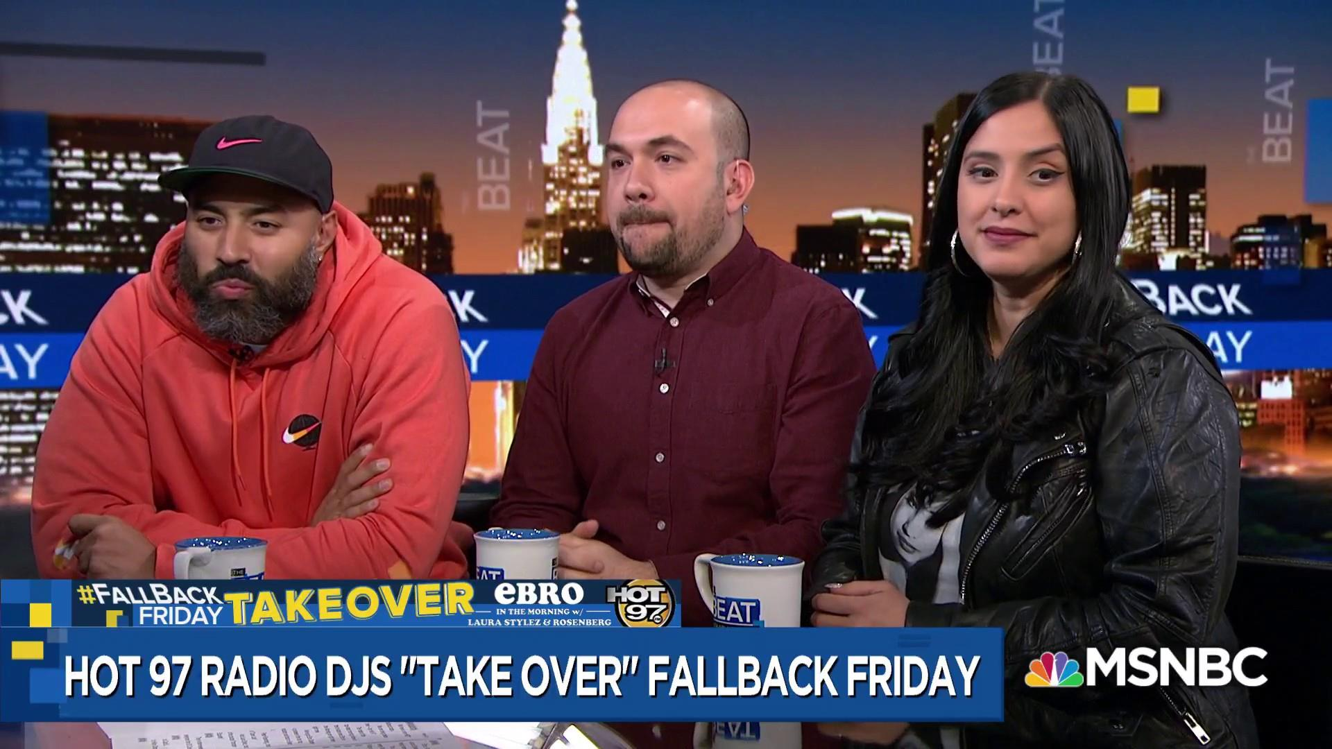 Hot 97 takes over The Beat, slamming Fox News, Ari and repeat outfits