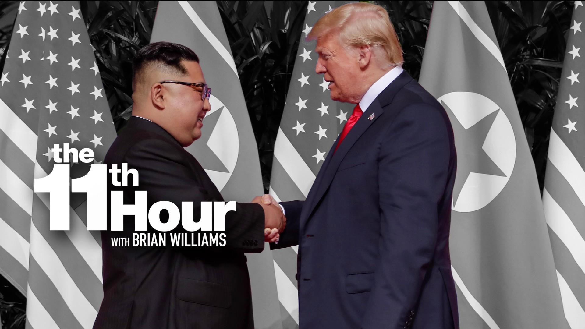 Trump on meeting Kim Jong Un in Singapore: 'It's my honor'