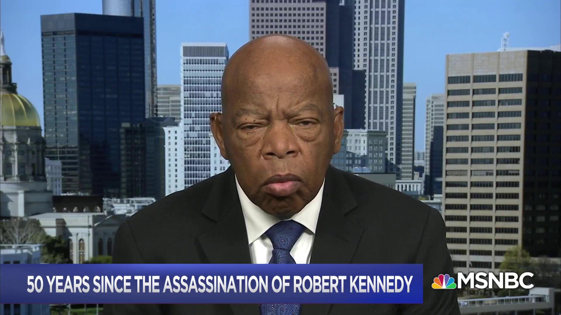 John Lewis: Bobby Kennedy inspired the best in all of us