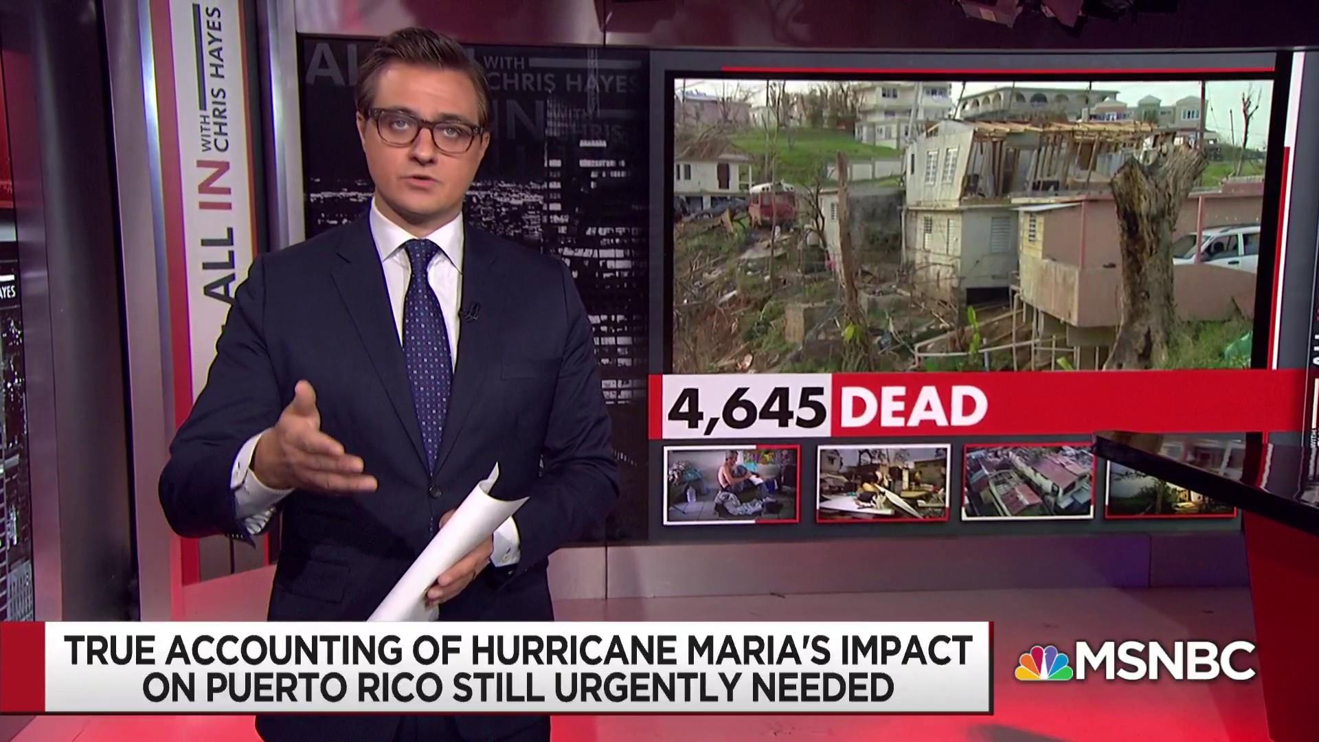 Still no full accounting for Hurricane Maria