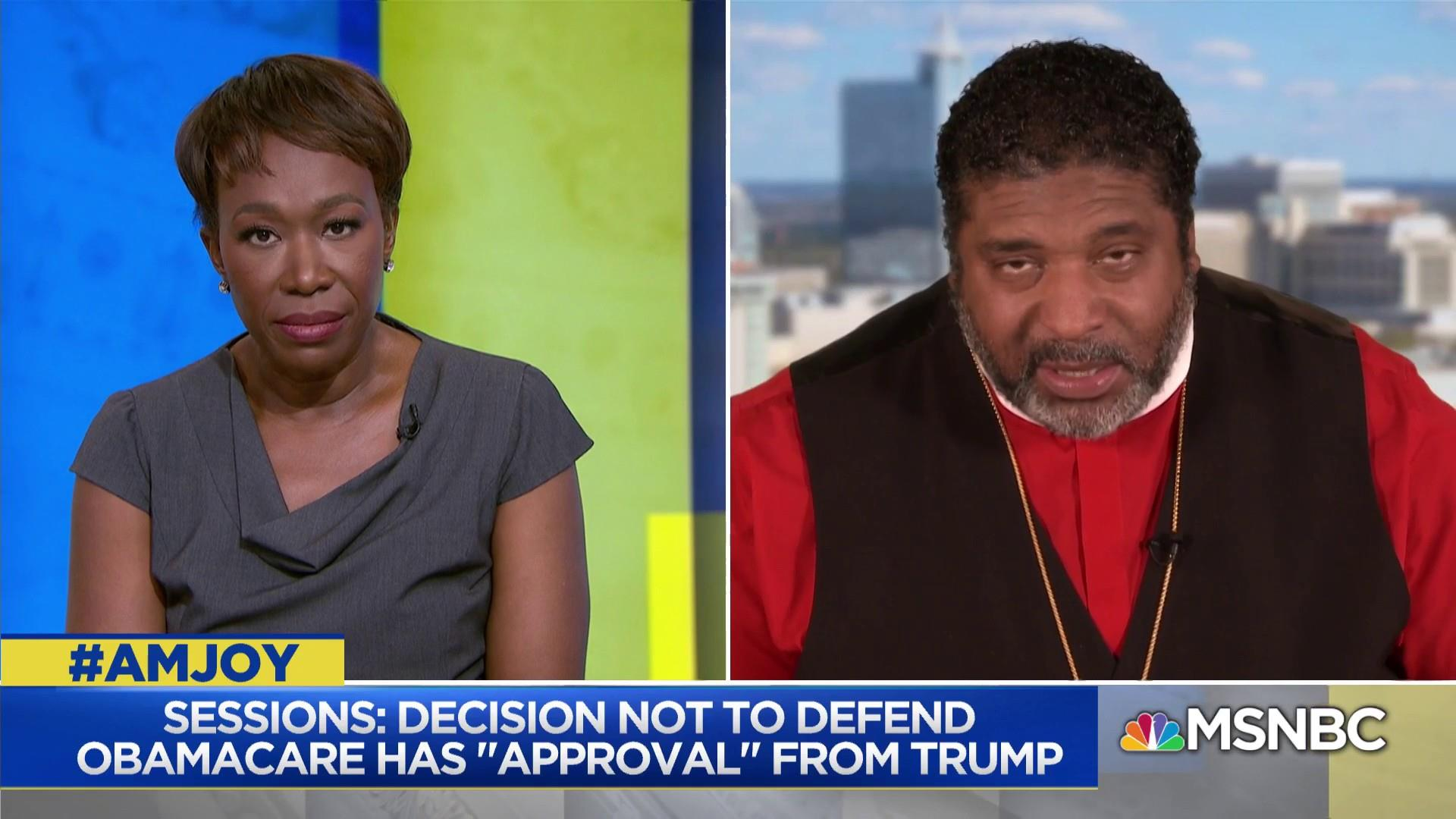 Rev. Barber on 'commitment to greed working to destroy healthcare'