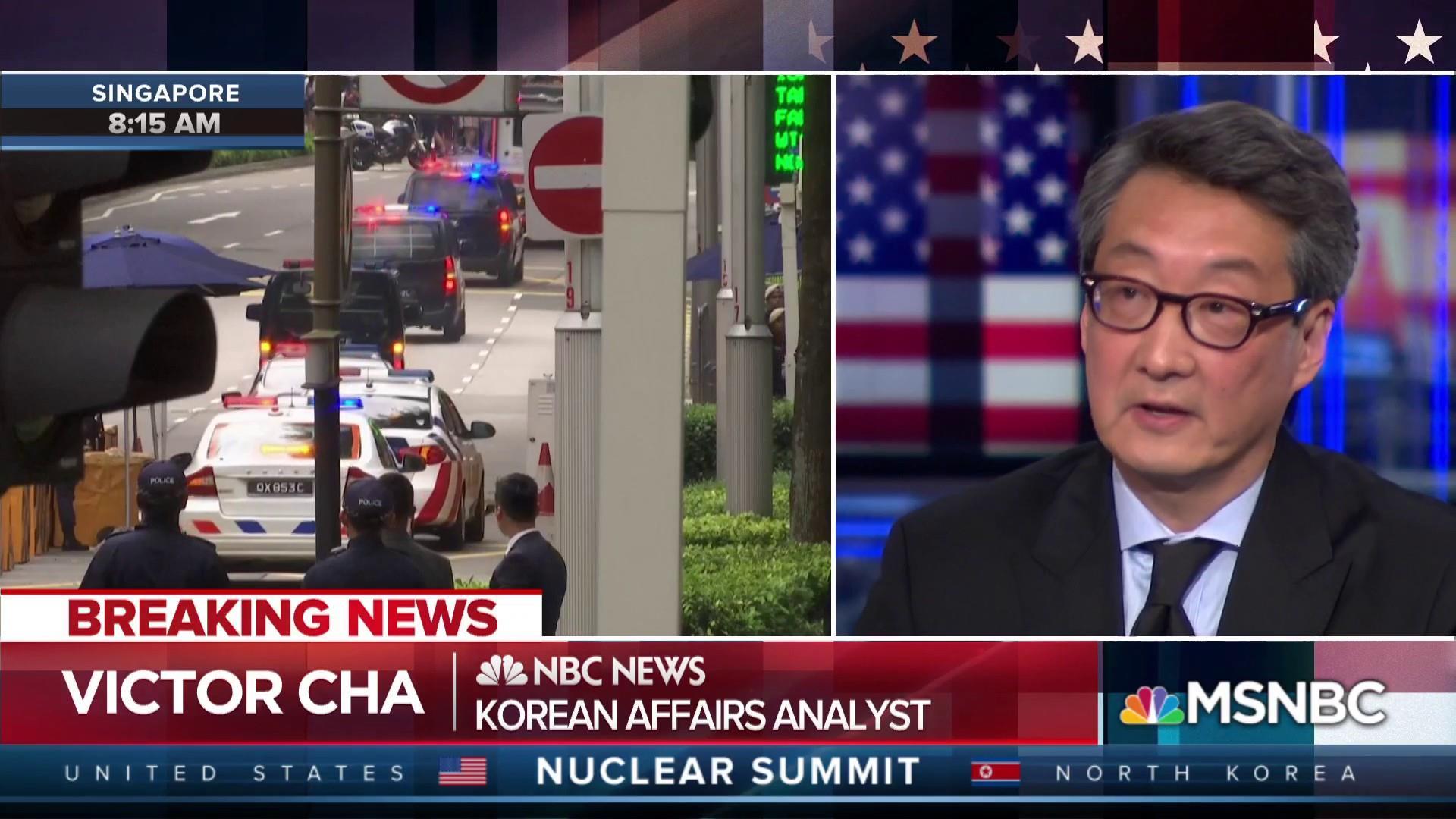 Singapore summit a big moment for Trump, huge for Kim Jong Un