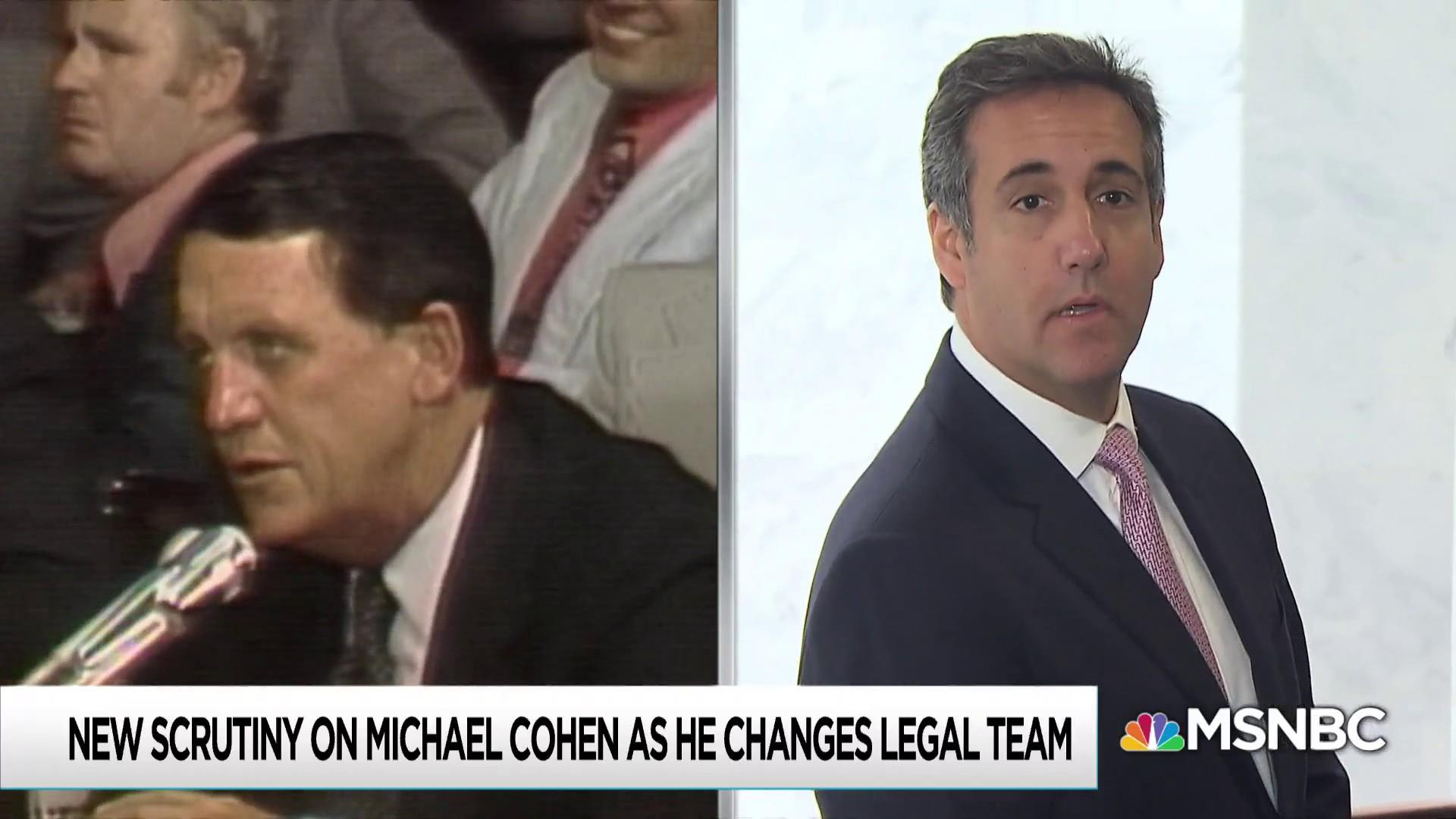 Nixon lawyer's prison time casts shadow over Michael Cohen