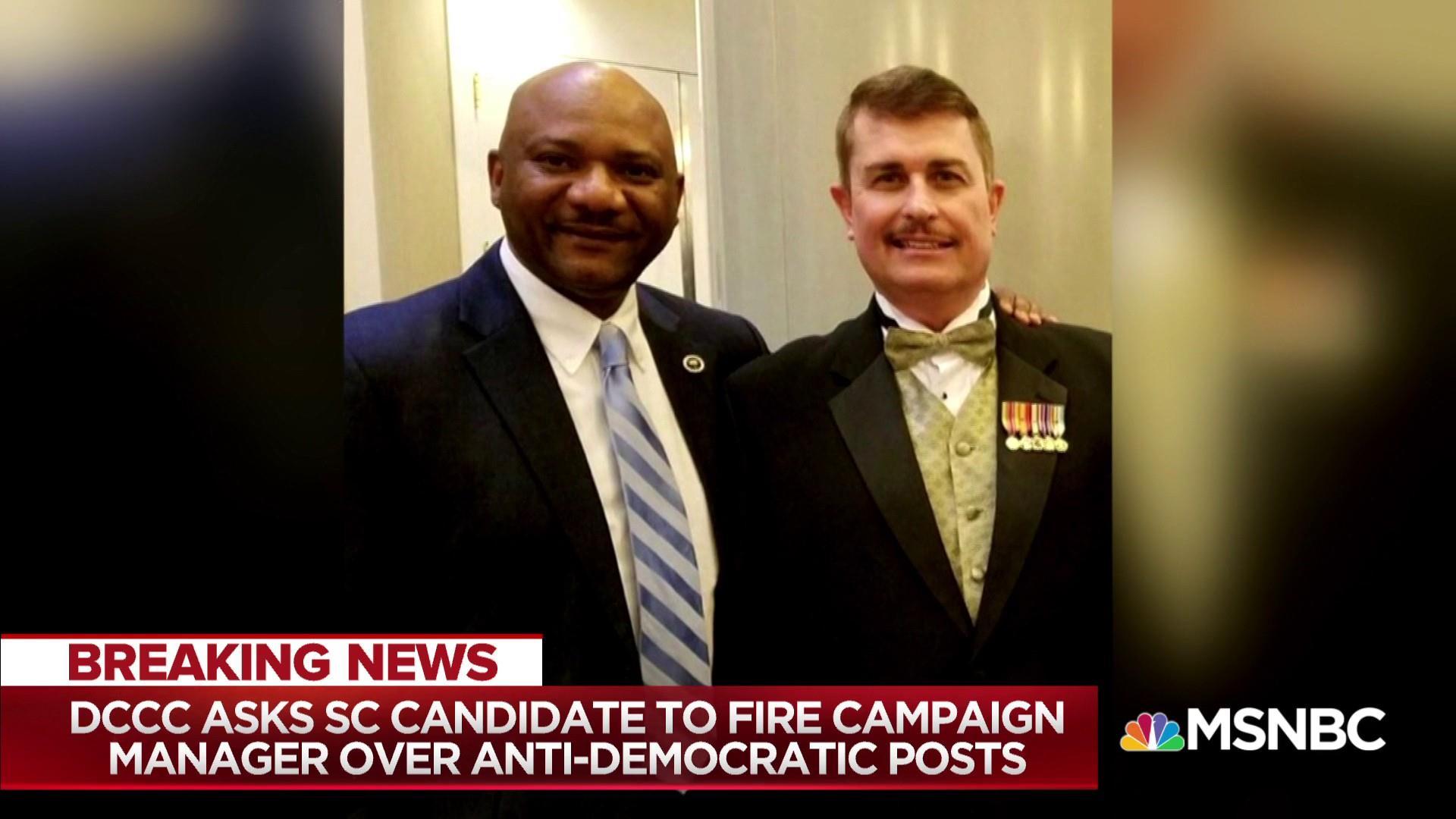 Democrat's campaign chief draws party ire for Facebook attacks