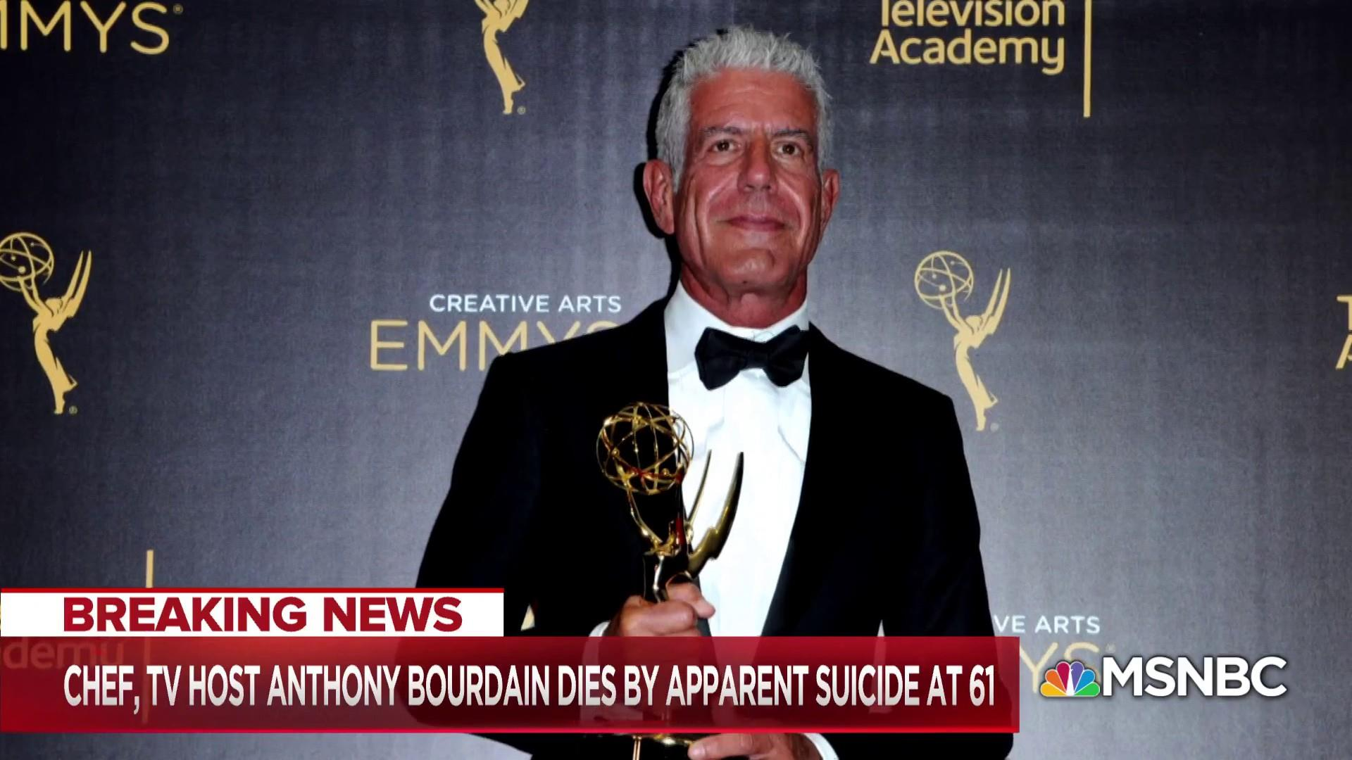 Renegade chef and journalist, Anthony Bourdain, found dead at 61