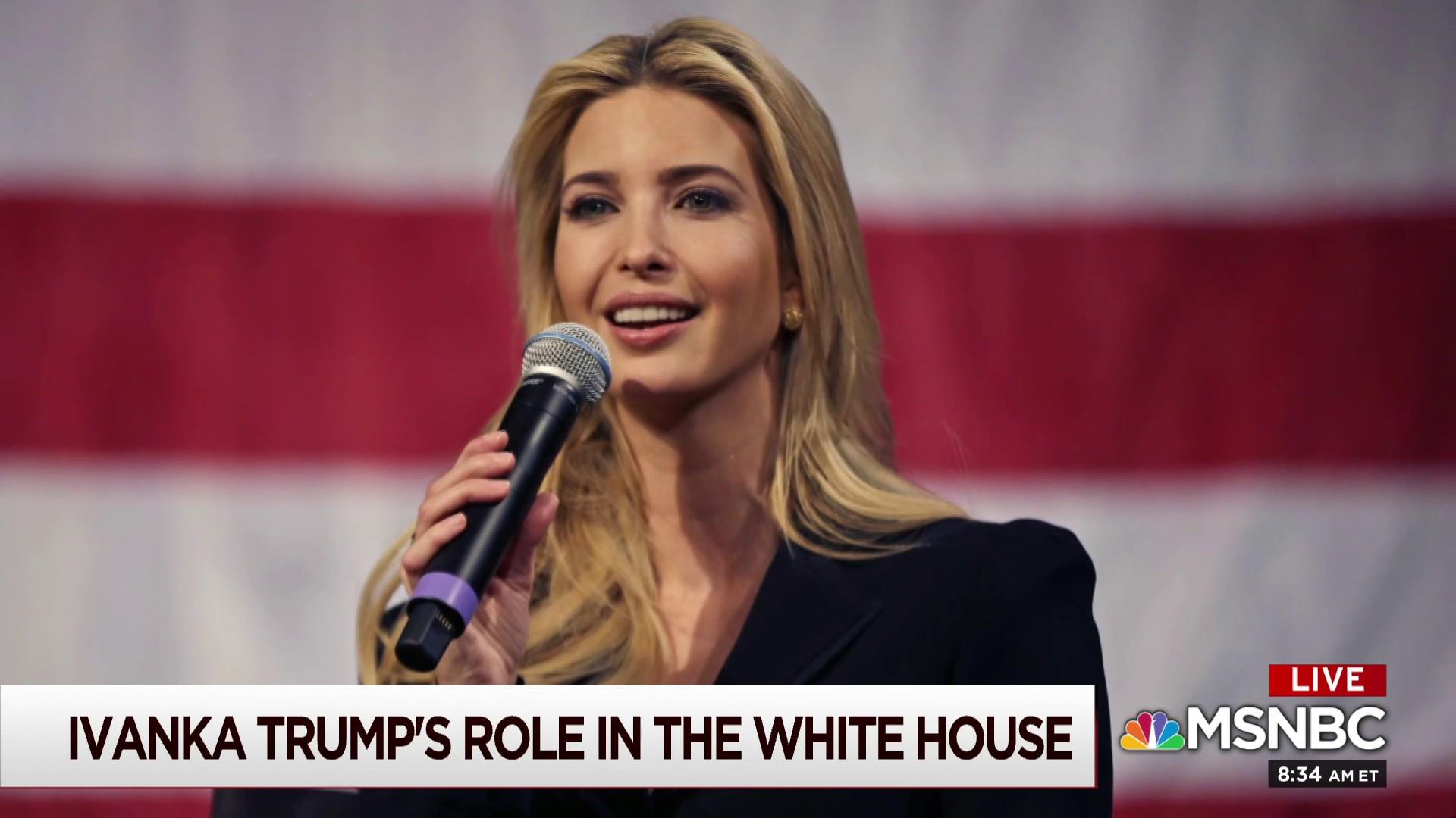 Complicated bond with dad may have kept Ivanka quiet: Reporter