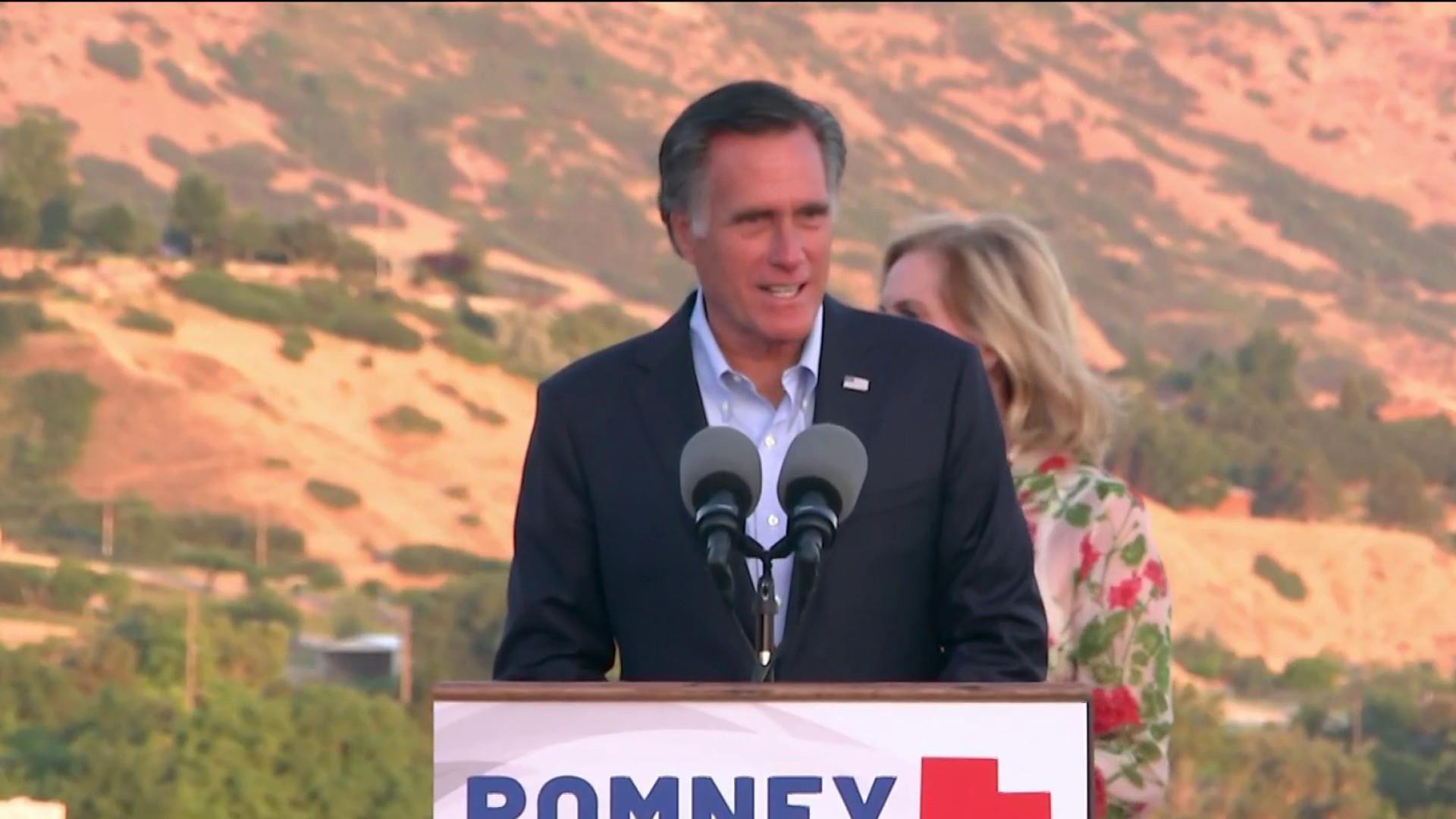 Romney wins Utah primary, publishes op-ed on Trump agenda