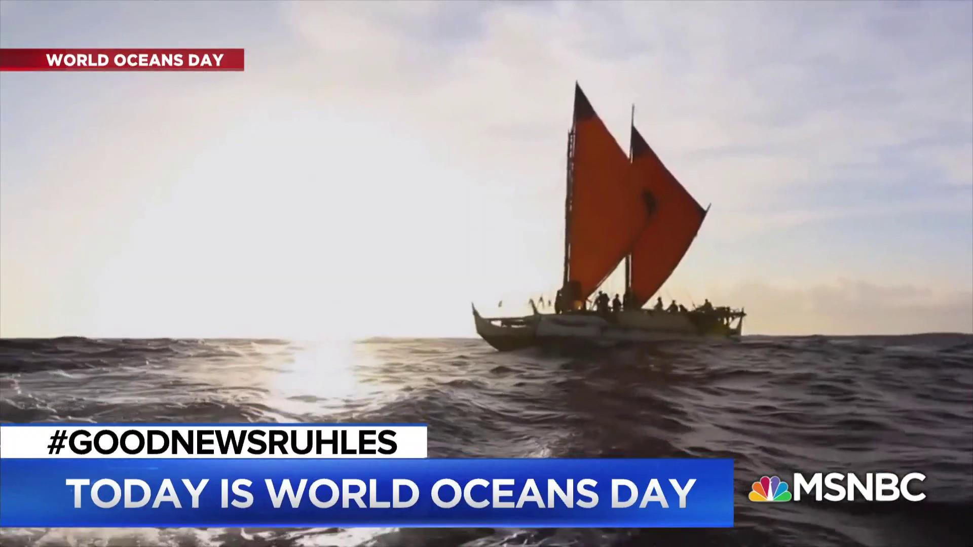 #GoodNewsRUHLES: World Oceans Day