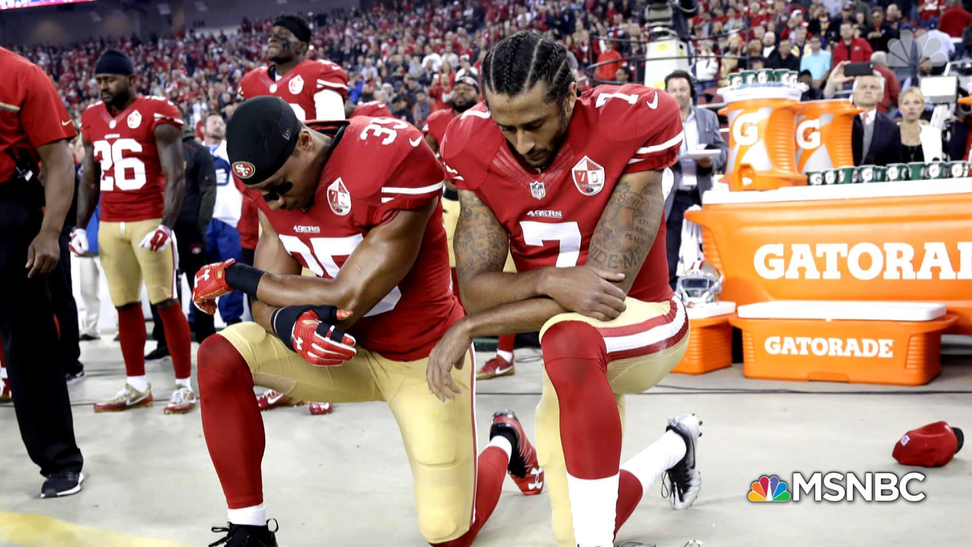 Has sports become the latest platform for activism?