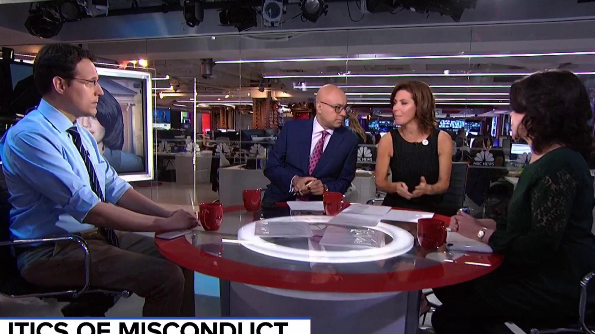 Kornacki: Bill Clinton's script on Lewinsky hasn't changed