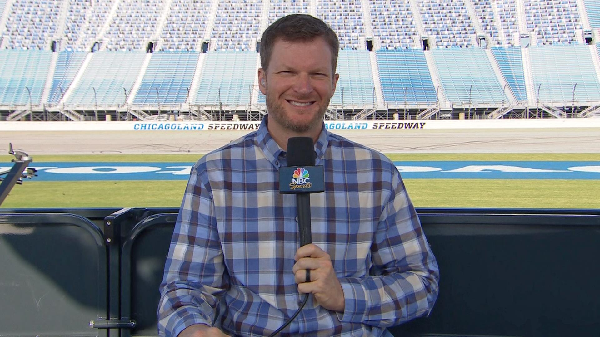 Dale Earnhardt Jr. gears up for debut as NBC's NASCAR analyst