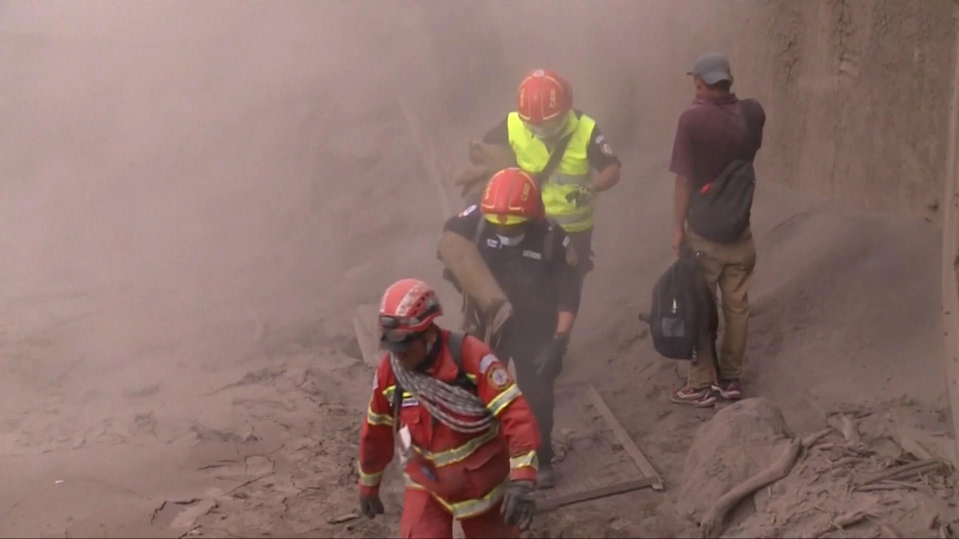 At least 65 killed, 3,100 evacuated after Guatemala volcano eruption
