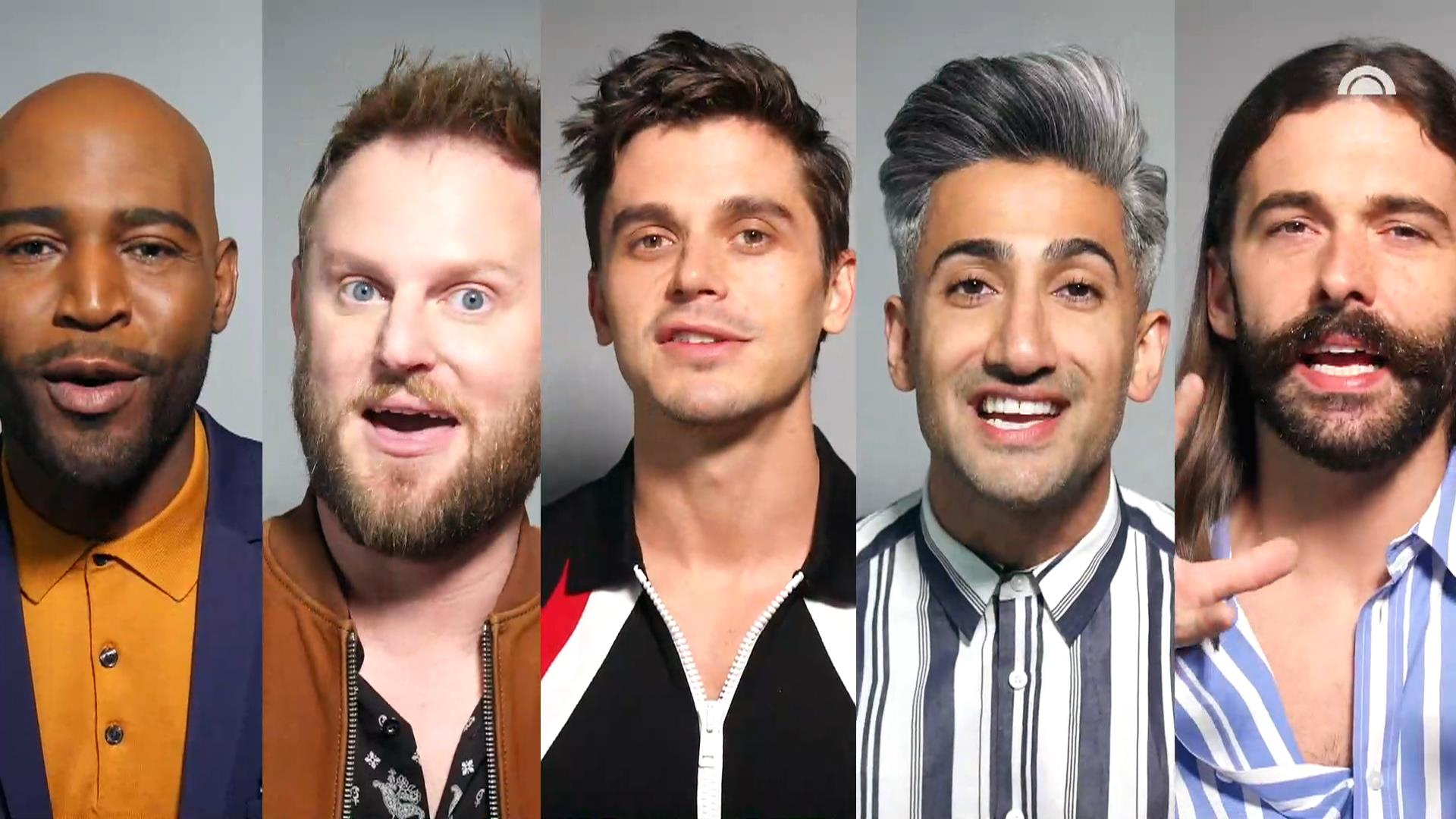 39 queer eye 39 s 39 fab 5 give their top 5 tips for summer. Black Bedroom Furniture Sets. Home Design Ideas