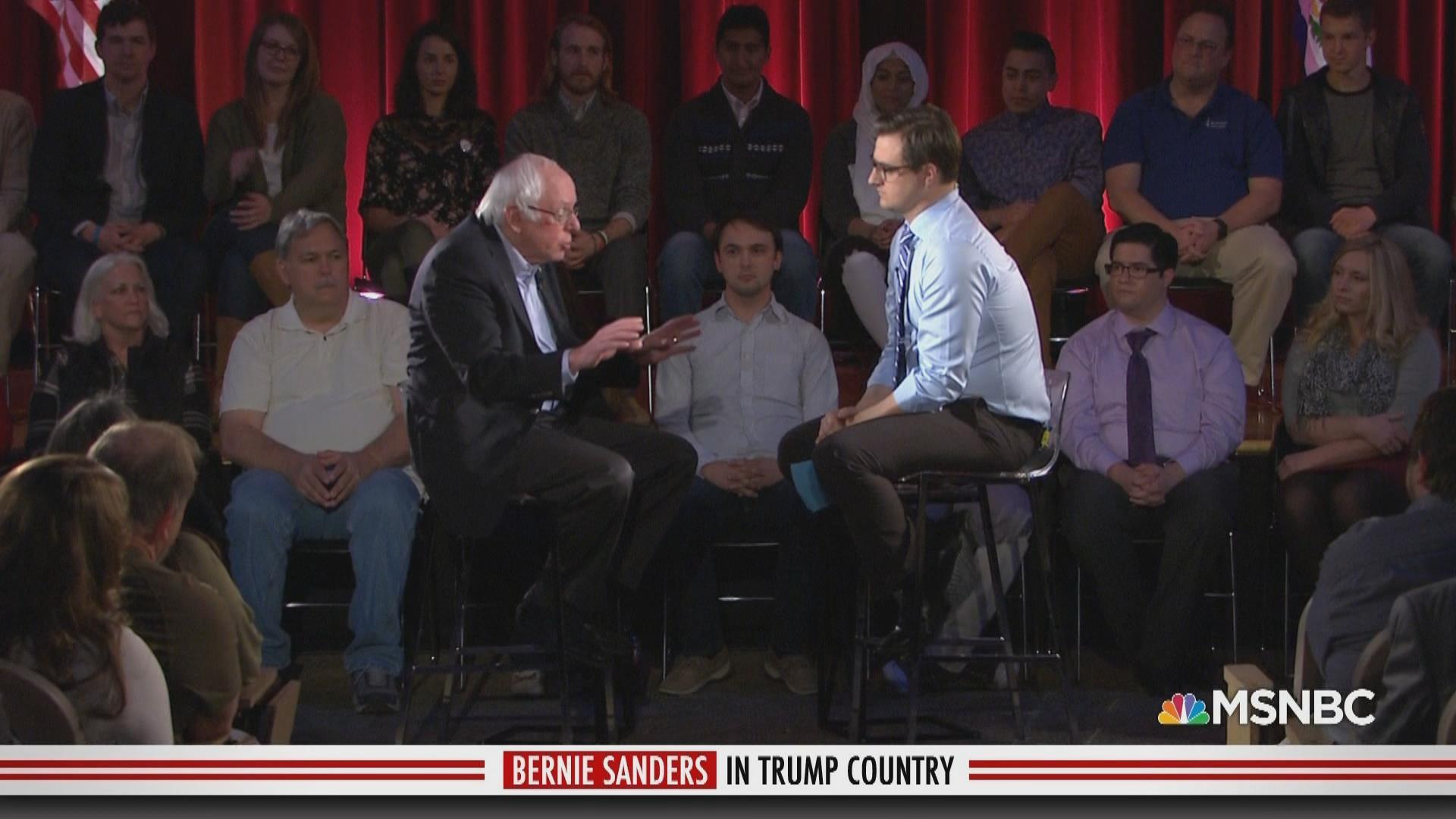 Bernie Sanders in Trump Country