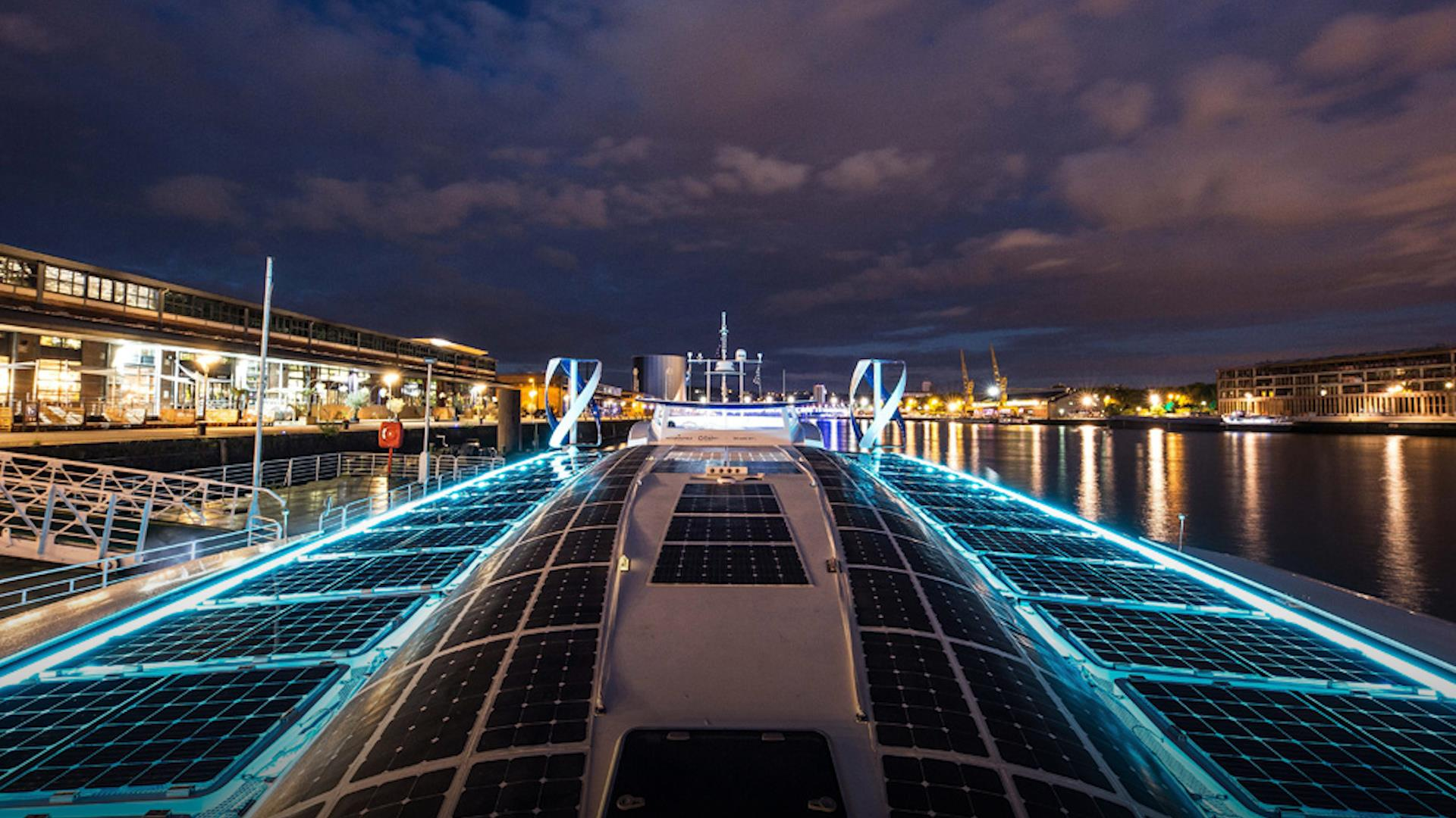 This ship is on a six-year-long journey to prove that zero-emission ocean travel is possible