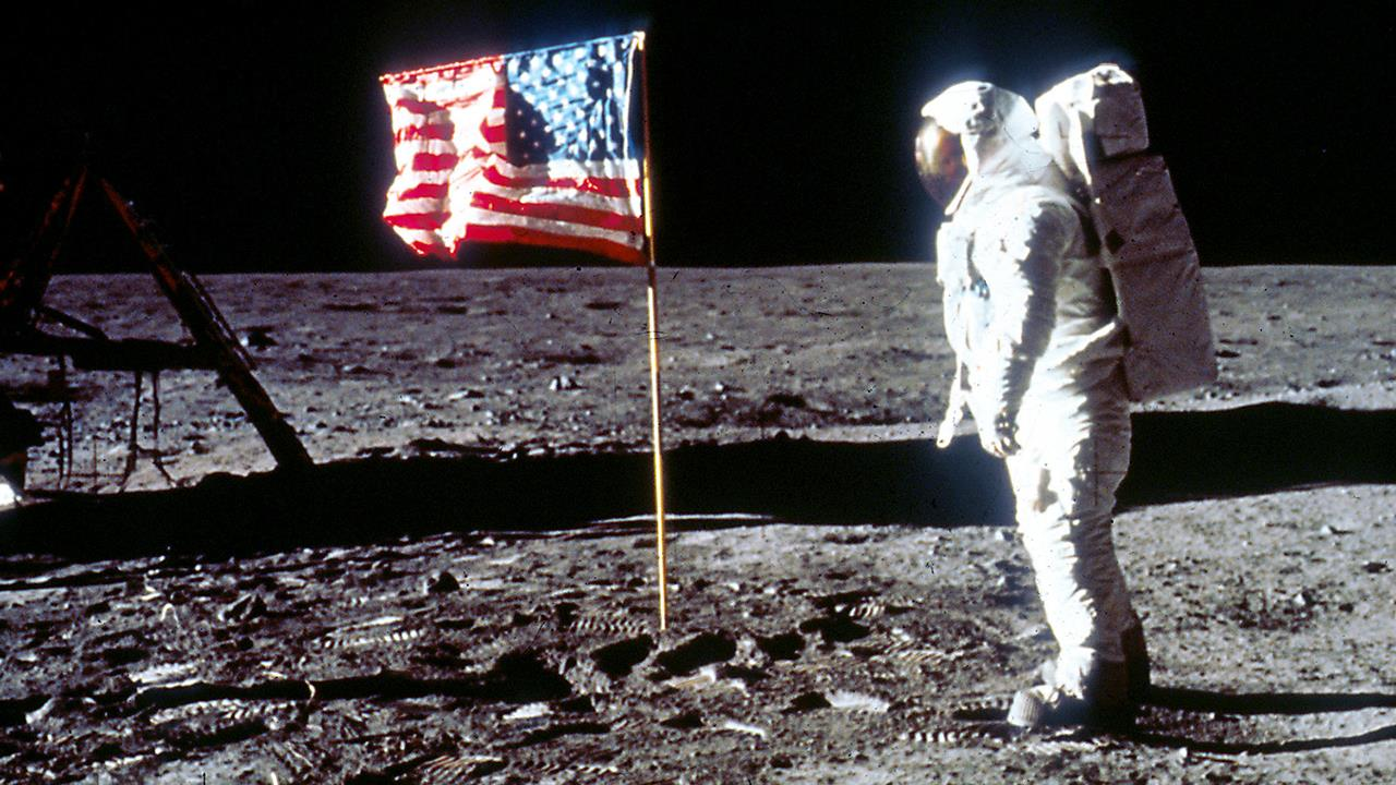 160 heartbeats per minute: The final, frantic moments before the historic moon landing