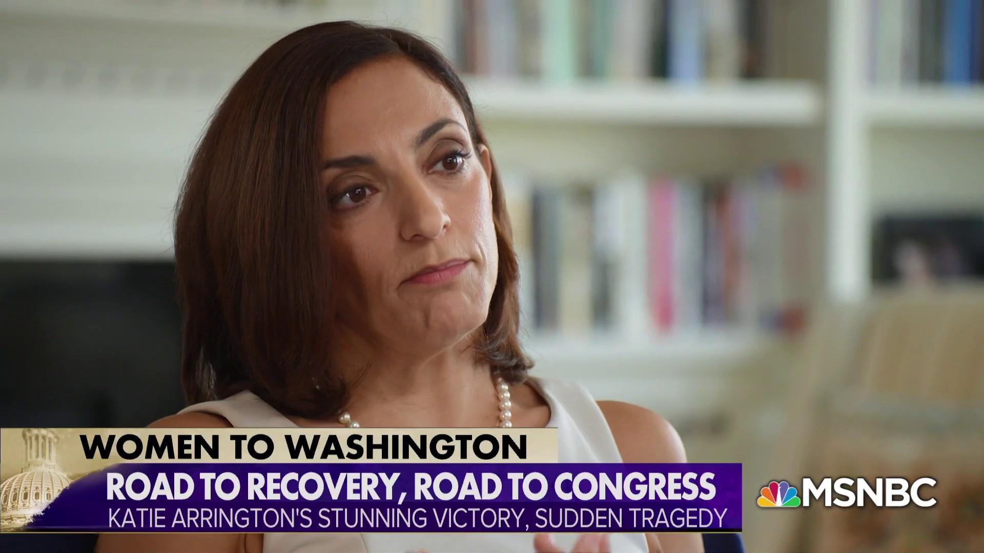 Katie Arrington back on campaign trail after tragic car accident